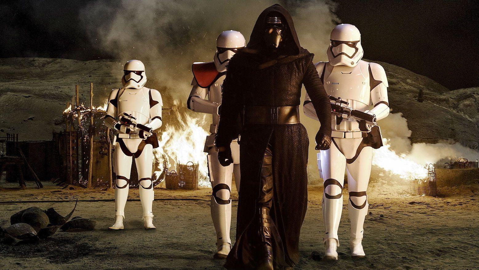 Screenshot from Star Wars: The Force Awakens