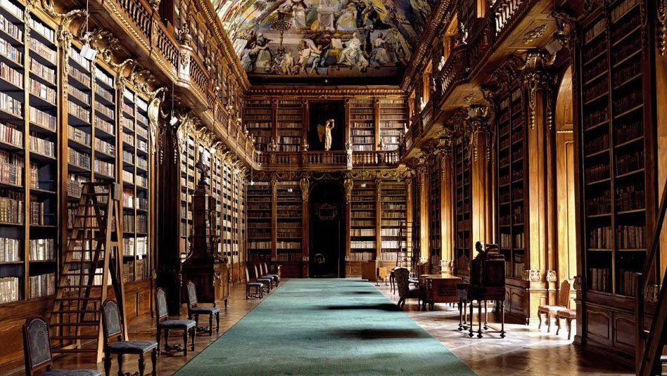 Europe's extravagant libraries are glorified in a new coffee table book