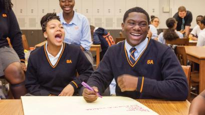 Students at Success Academy