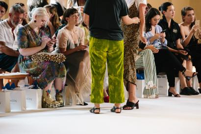 ada6898f8952 New York Fashion Week was all about animal print and tiny sunglasses ...