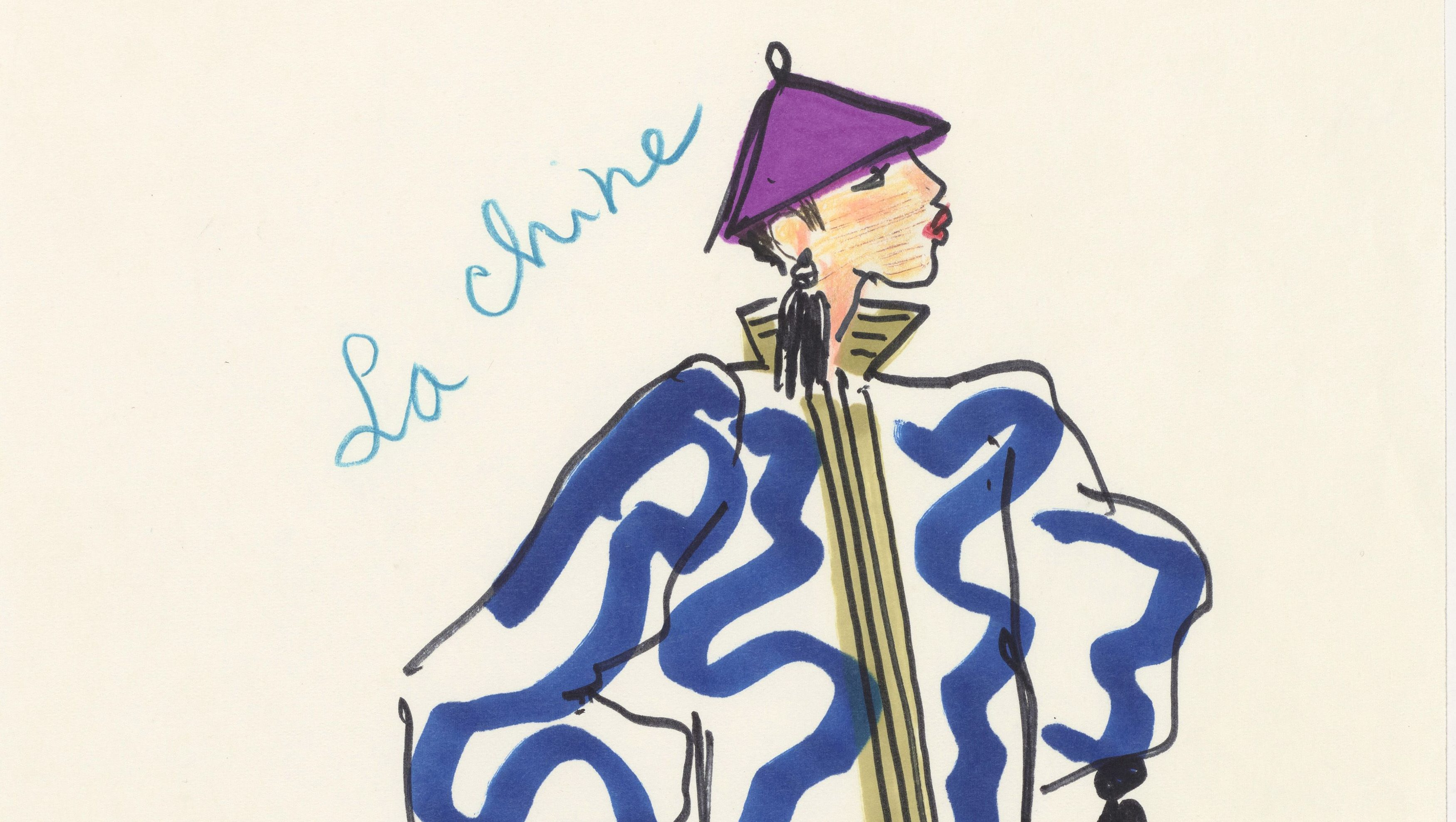 ca2aaf3c6fe How China and Asia influenced Yves Saint Laurent s fashion — Quartzy
