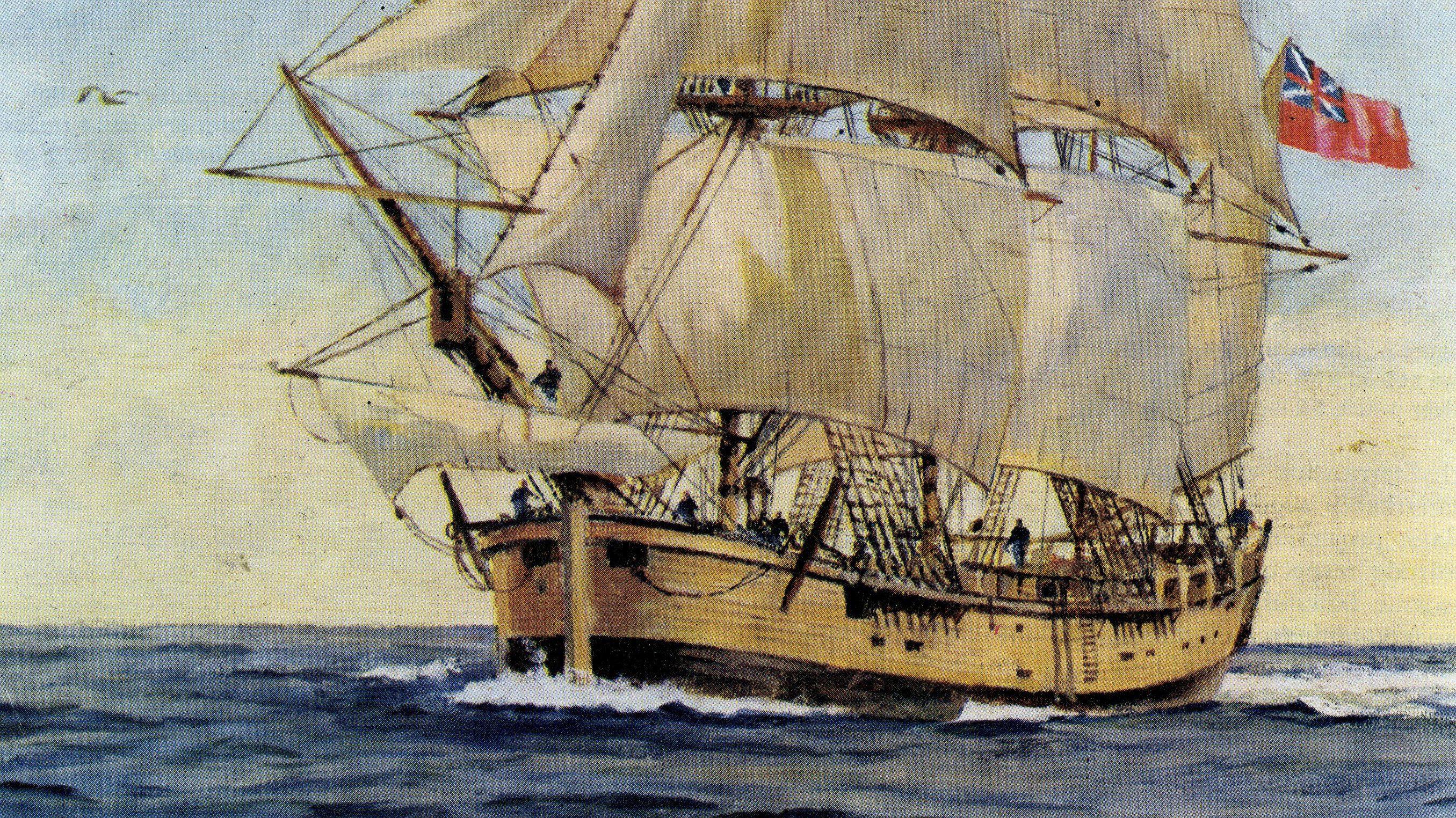 Captain Cook's HMS Endeavour possibly found in US — Quartz