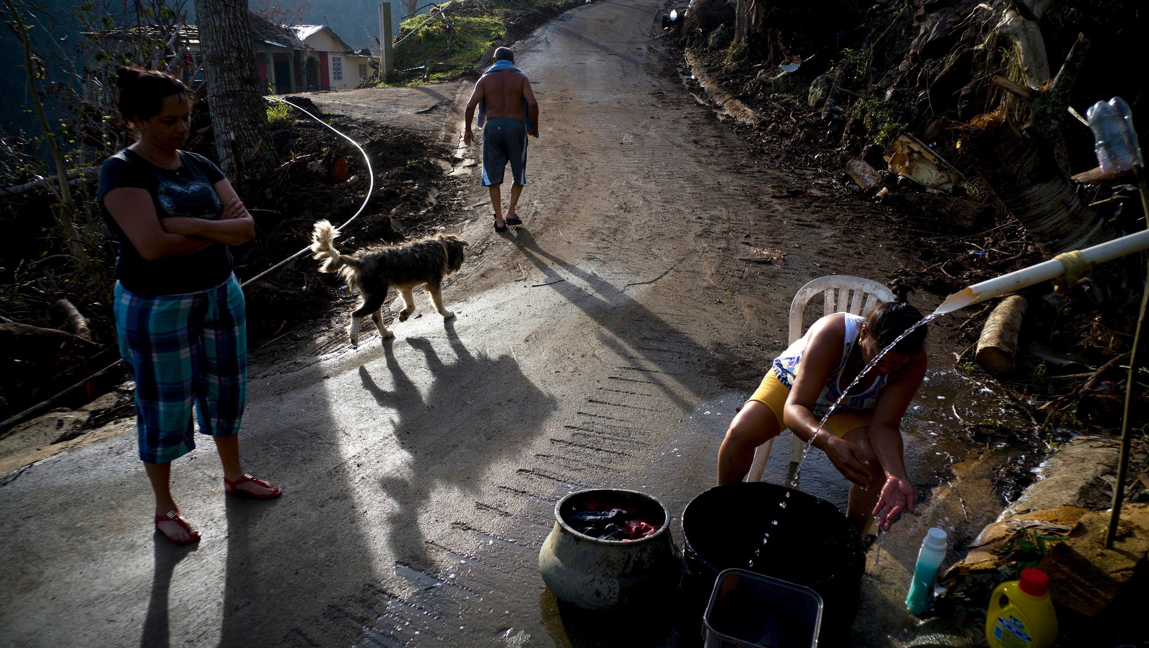 Hurricane Maria hit women the hardest