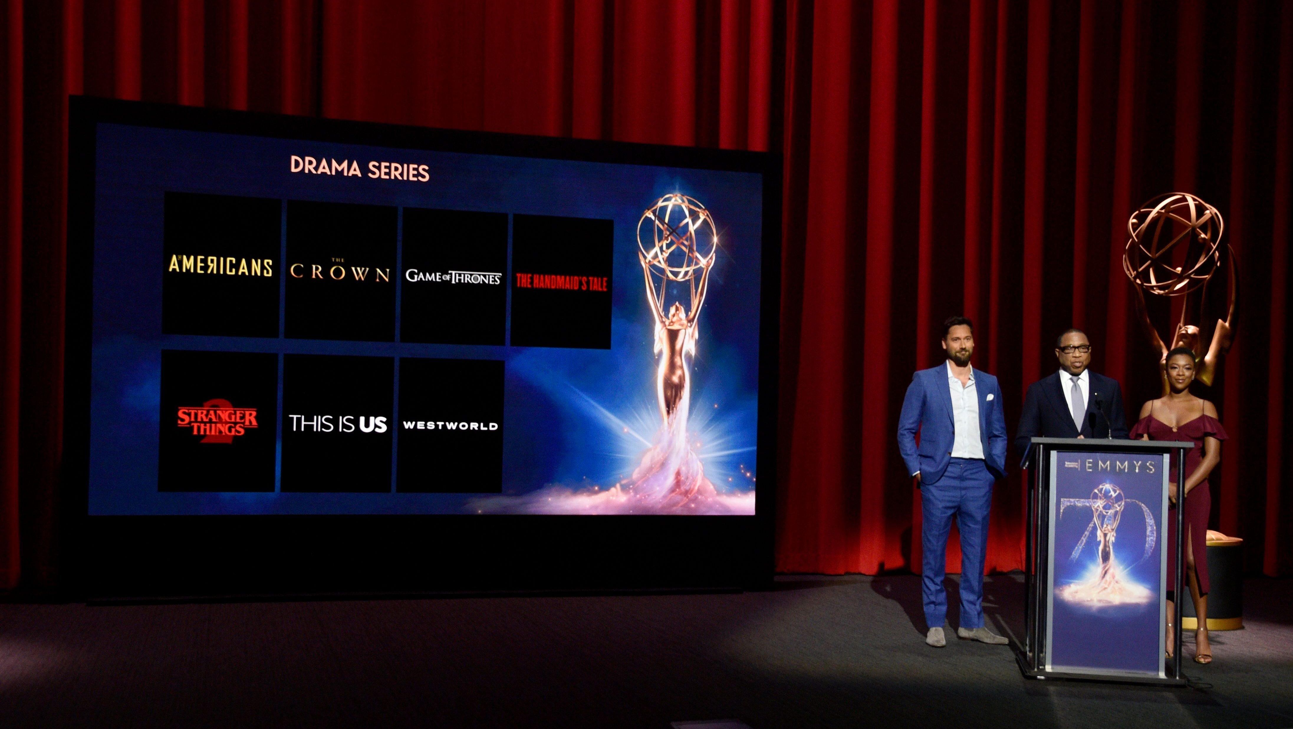 2018 Primetime Emmy Nominations Announcements