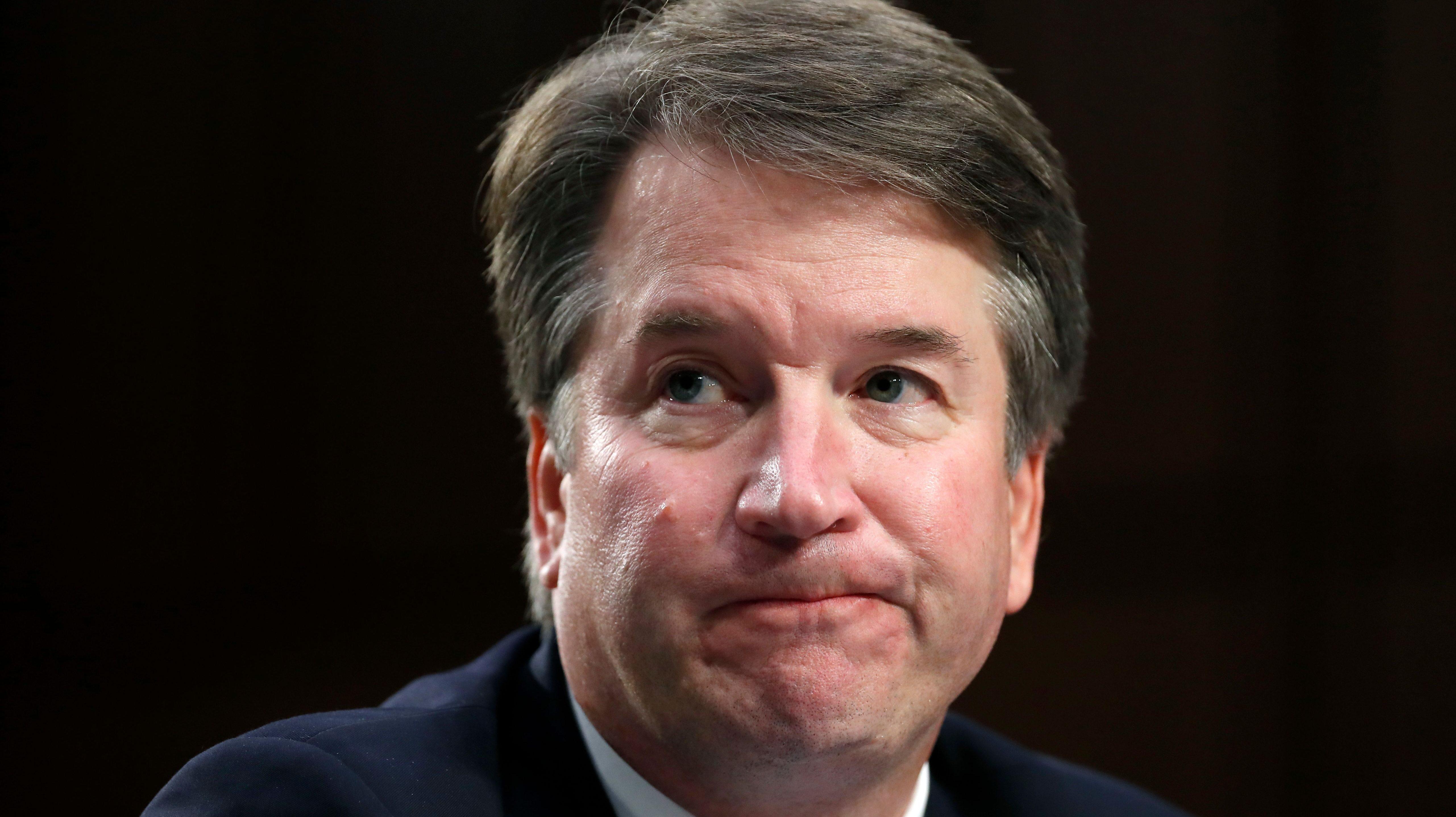 President Donald Trump's Supreme Court nominee, Brett Kavanaugh