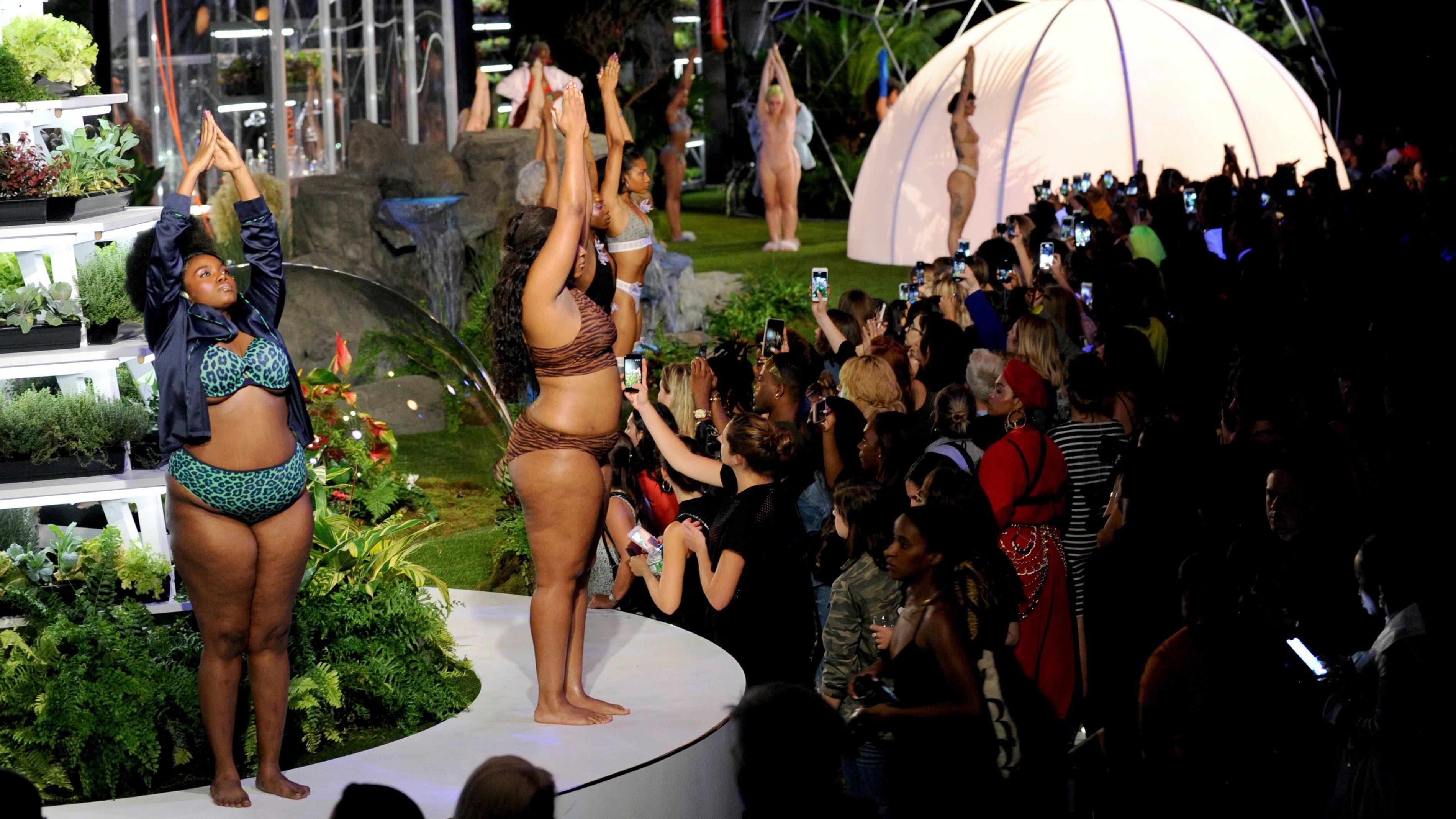 916983345430a Rihanna s Fenty X Savage lingerie show at NYFW puts Victoria s ...
