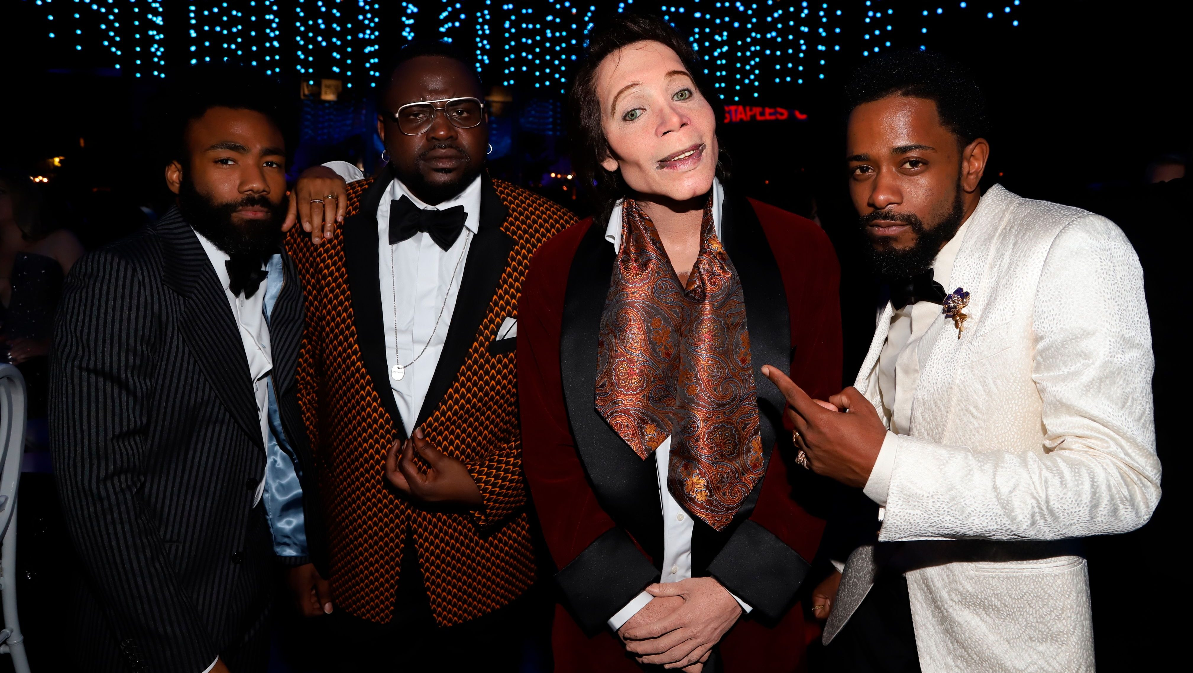 Donald Glover, Brian Tyree Henry, Teddy Perkins, Lakeith Stanfield