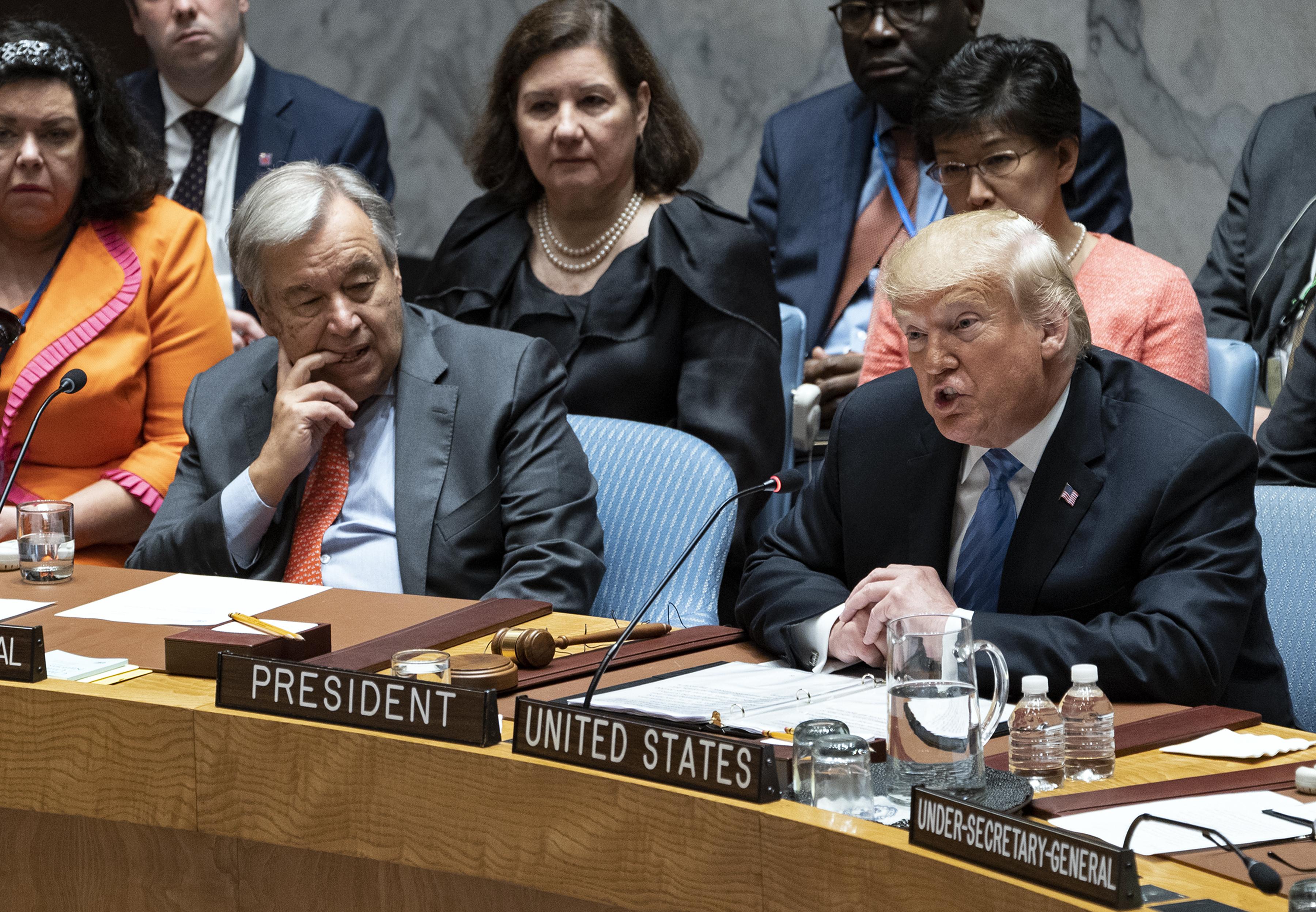 Donald Trump at UNGA