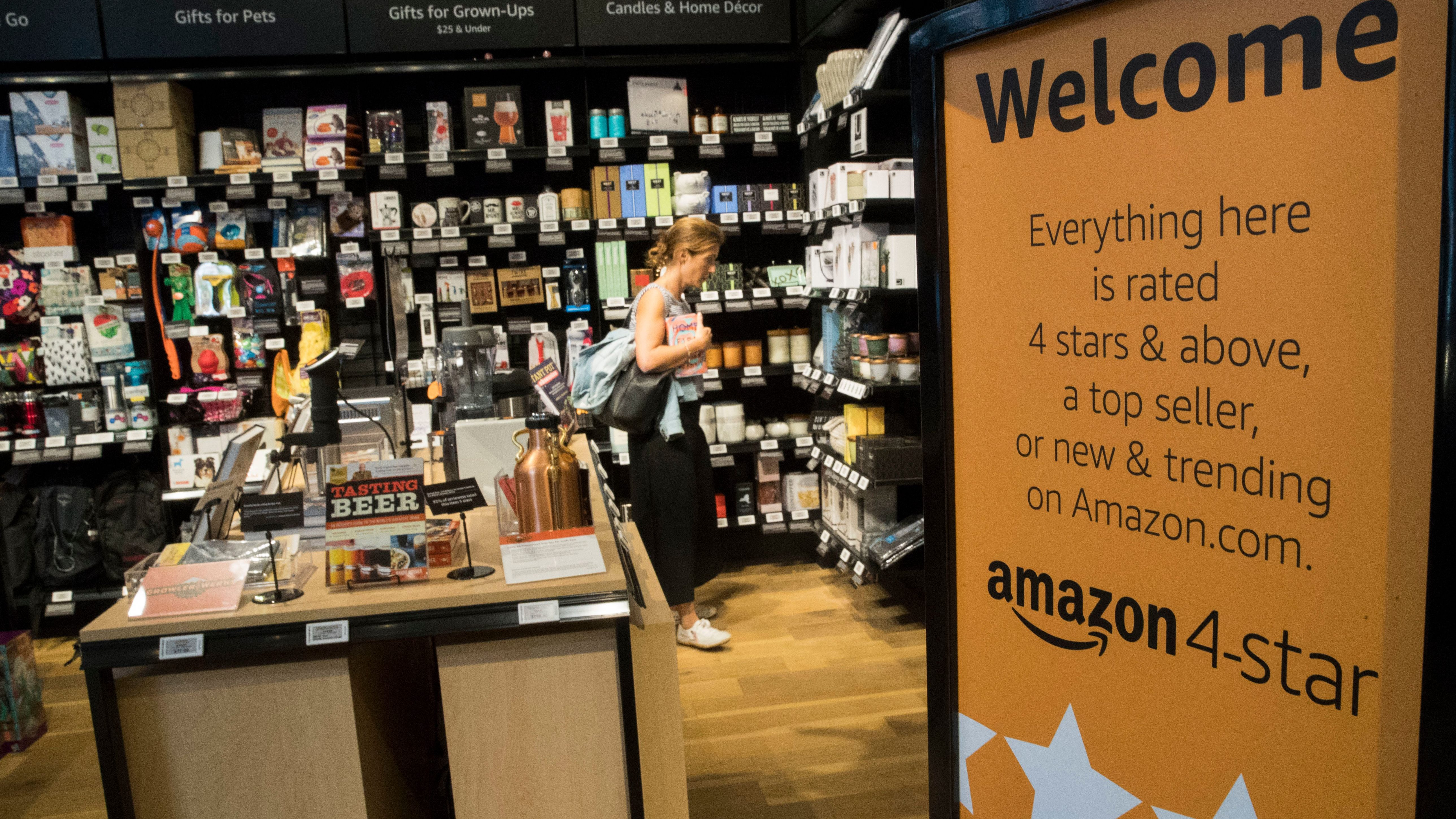 Review Of The Amazon 4 Star Store In New York City Quartz