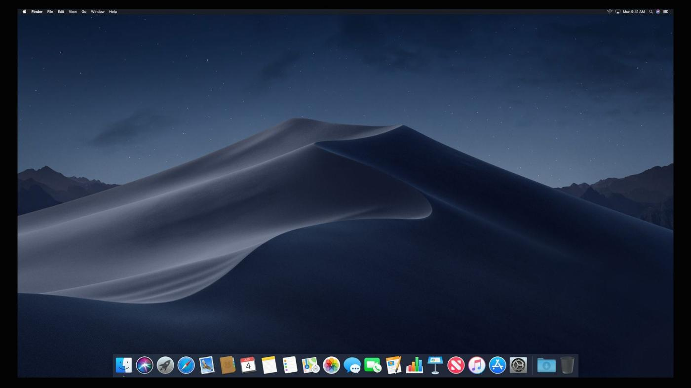 Apple S Macos Mojave How To Turn On Dark Mode For Every