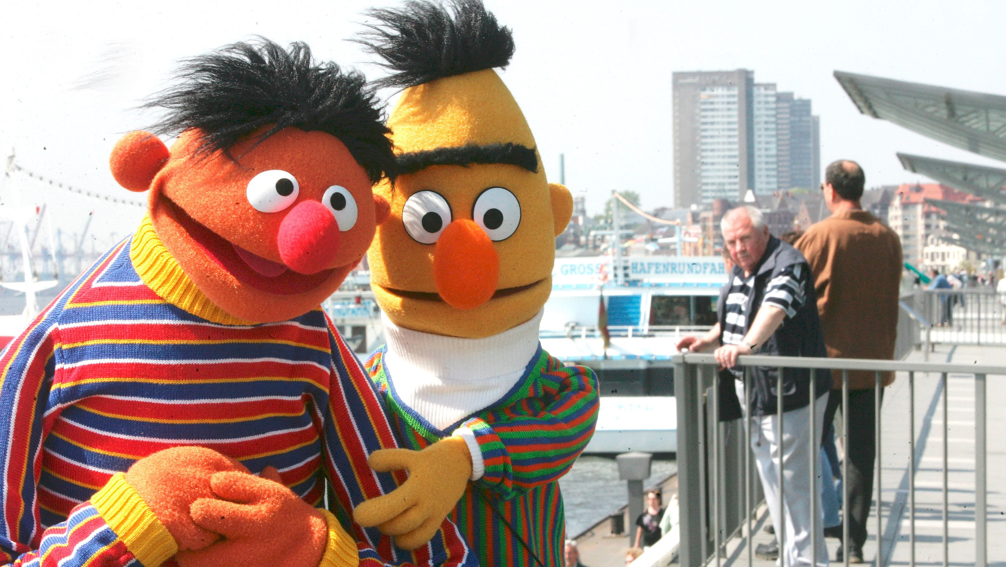 Burt and ernie are gay
