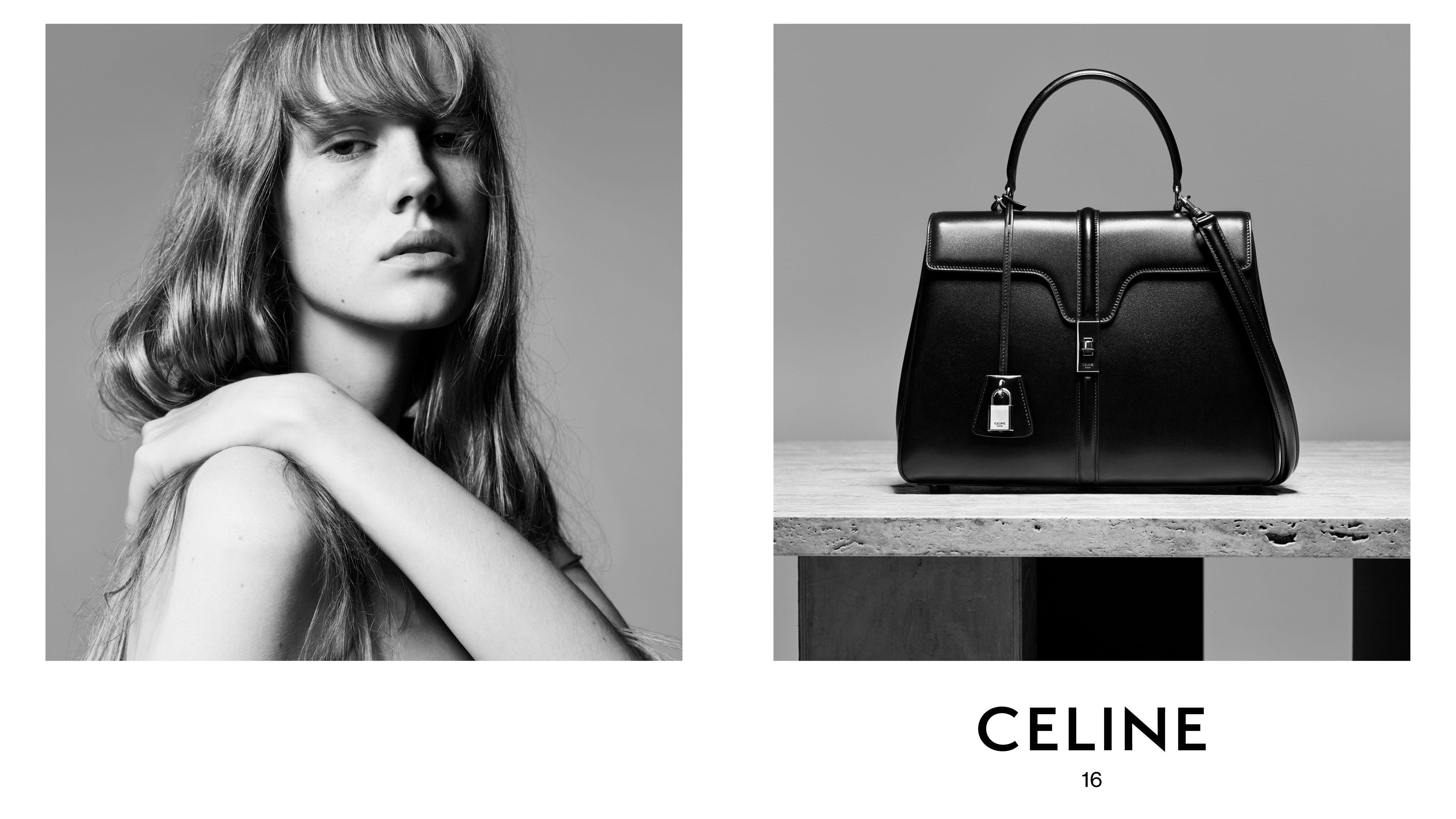 94537ac45421 Hedi Slimane s Celine handbag is already looking like fall s