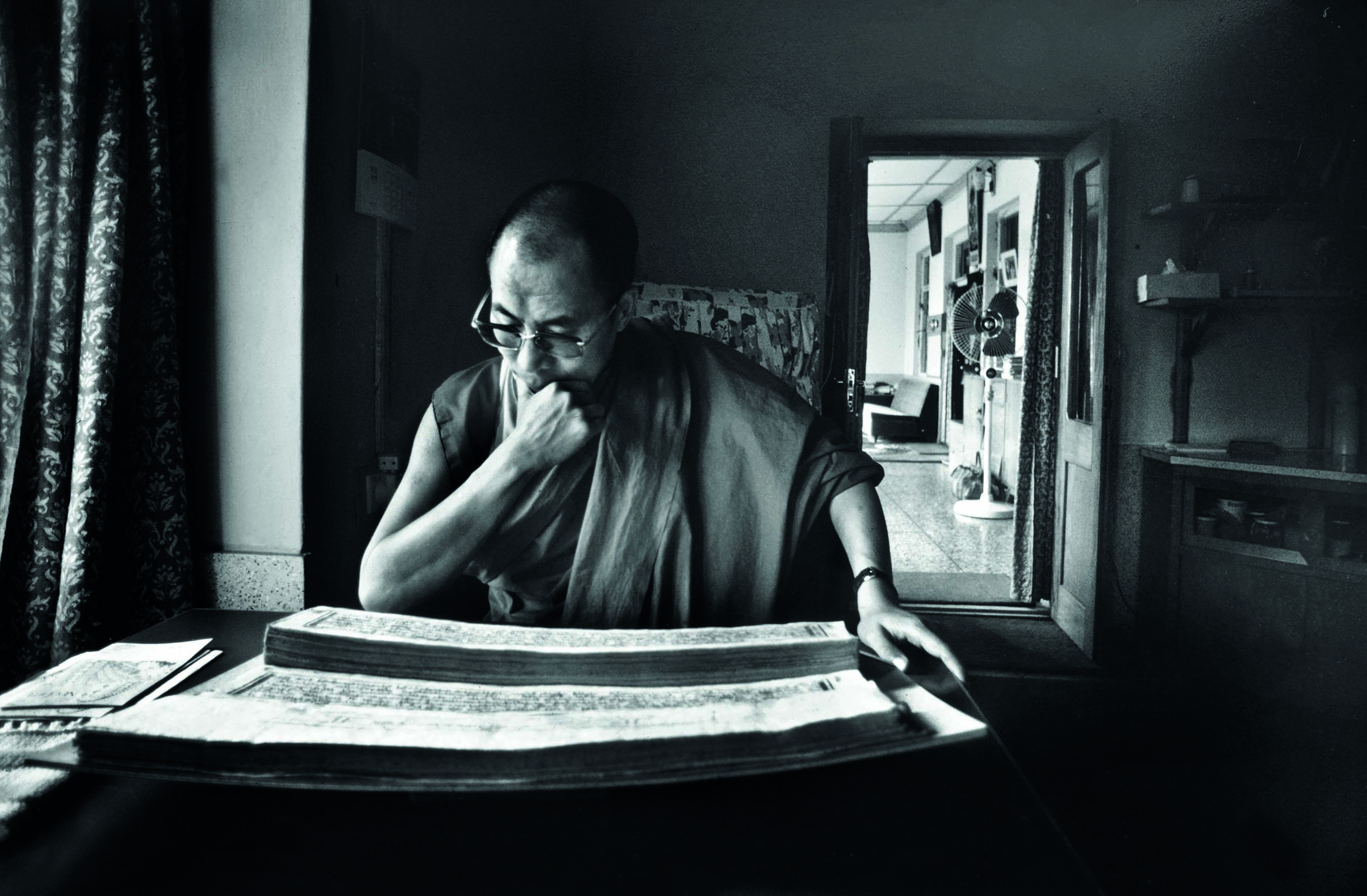 The Dalai Lama's everyday life captured by India's most iconic photojournalist