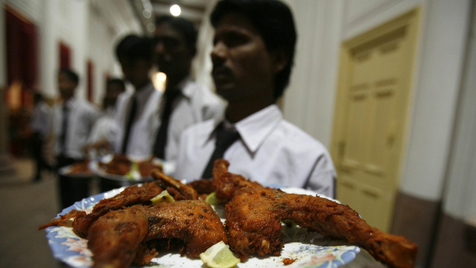 Vegetarian India's secret love affair with chicken
