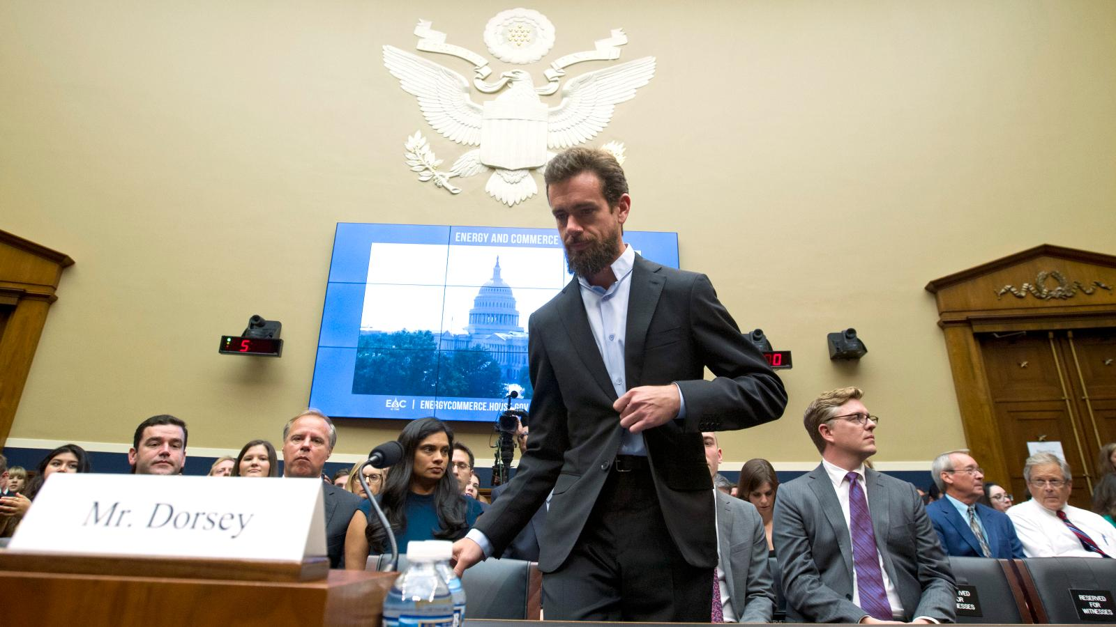 Twitter Ceo Jack Dorsey S Heart Rate Rose As He Testified To Congress Quartz At Work
