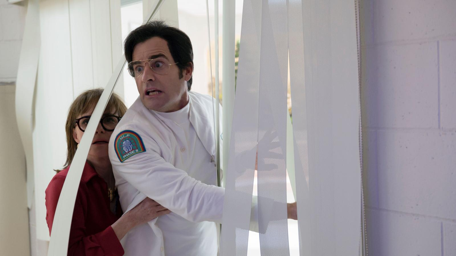"""Justin Theroux's """"Maniac"""" character is an instant comedic classic"""