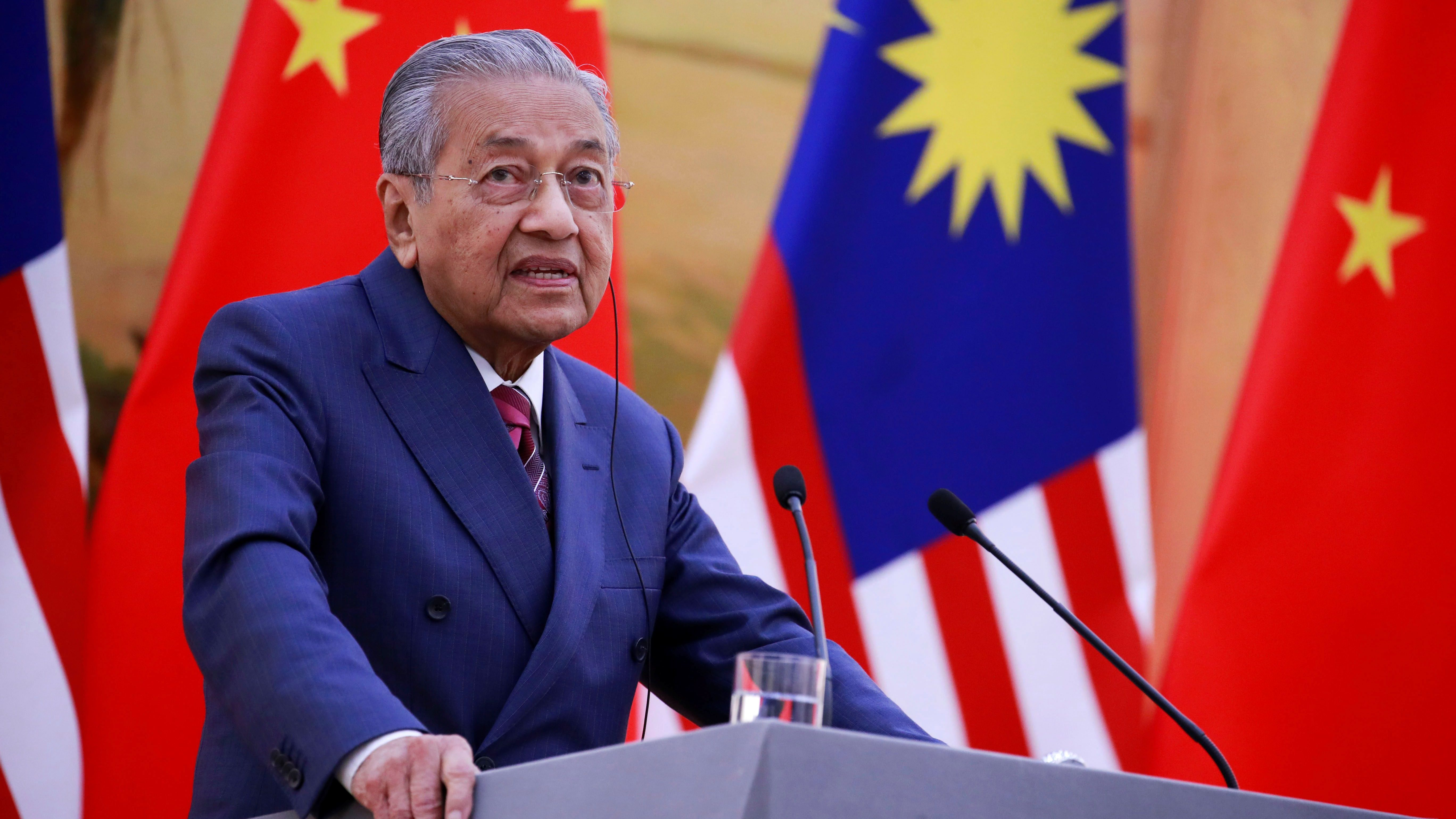 Malaysia's Mahathir Mohamad is 93-years-old