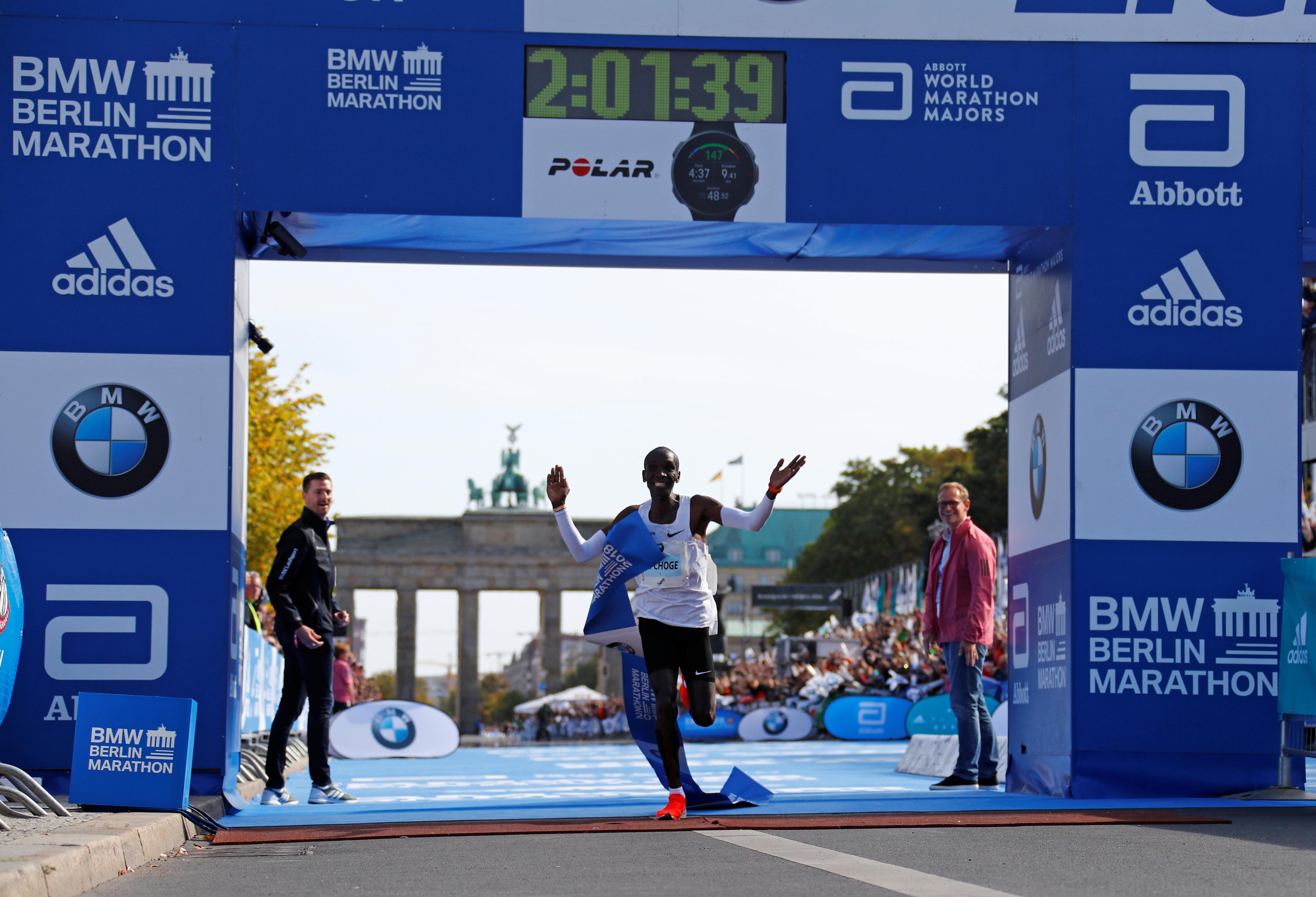 Kipchoge's Berlin world record will mean faster marathons