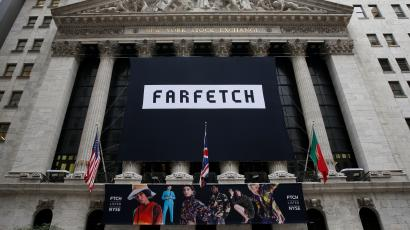 Farfetch had a strong opening day on the New York Stock Exchange.