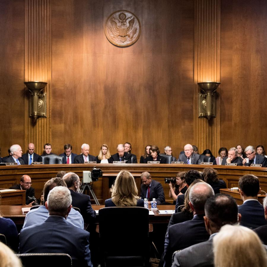 Brett Kavanaughs Supreme Court Nomination Vote Will Occur Friday Confirmation Watch And Latest News In Senate Judiciary Committee Quartz