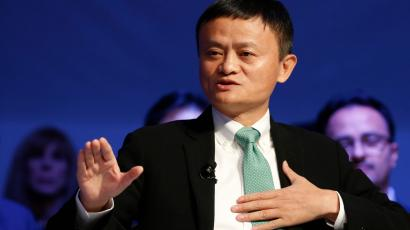 Alibaba executive chairman Jack Ma, attends the annual meeting of the World Economic Forum (WEF) in Davos