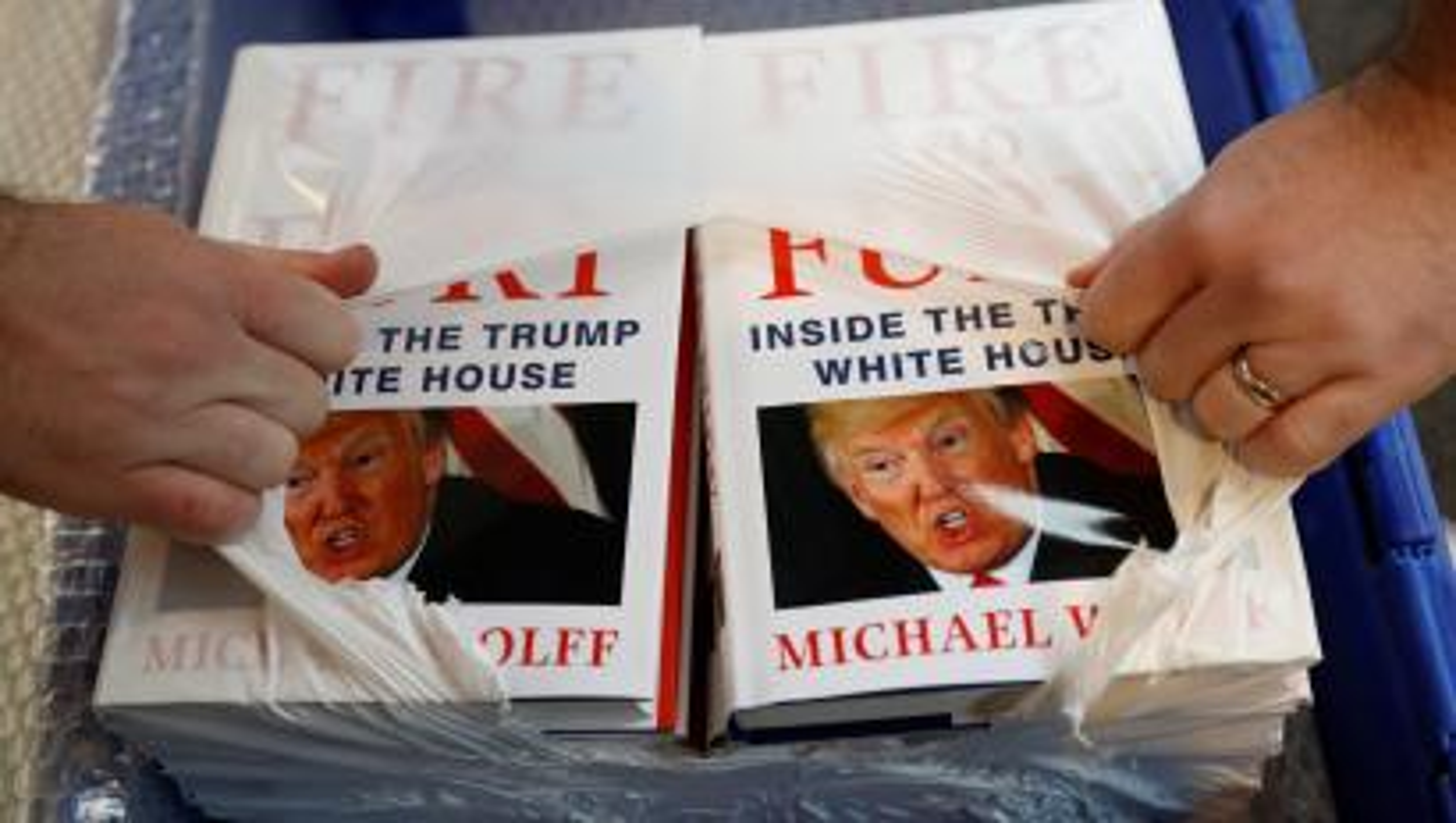 Fire and Fury Michael Wolff politics books