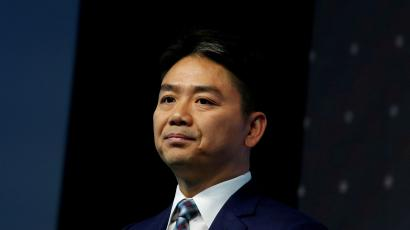 JD.com founder Richard Liu attends a business forum in Hong Kong, China June 9, 2017. REUTERS/Bobby Yip/File Photo/File Photo - RC13ADA46A70