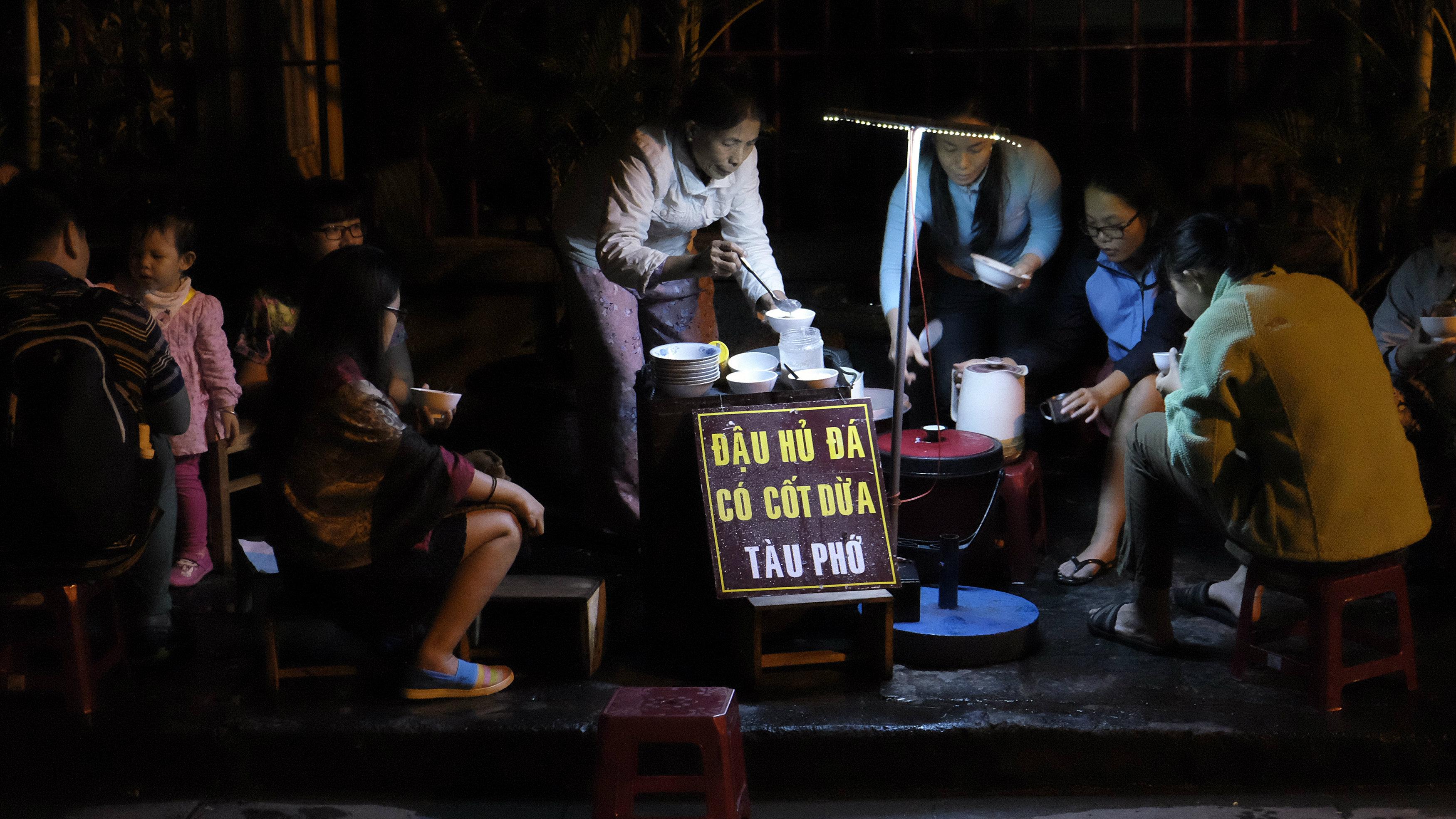 Hoi An street food soup