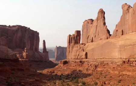 sandstone formations at Arches Nationa lPark
