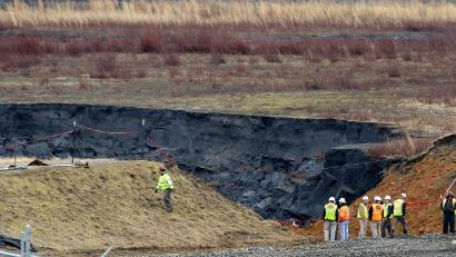 In 2014, Duke Energy spilled coal ash into the Dan River in North Carolina. Seventy miles of the river were coated in toxic sludge.