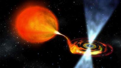 Pulsars are rapidly-spinning searchlights in space.