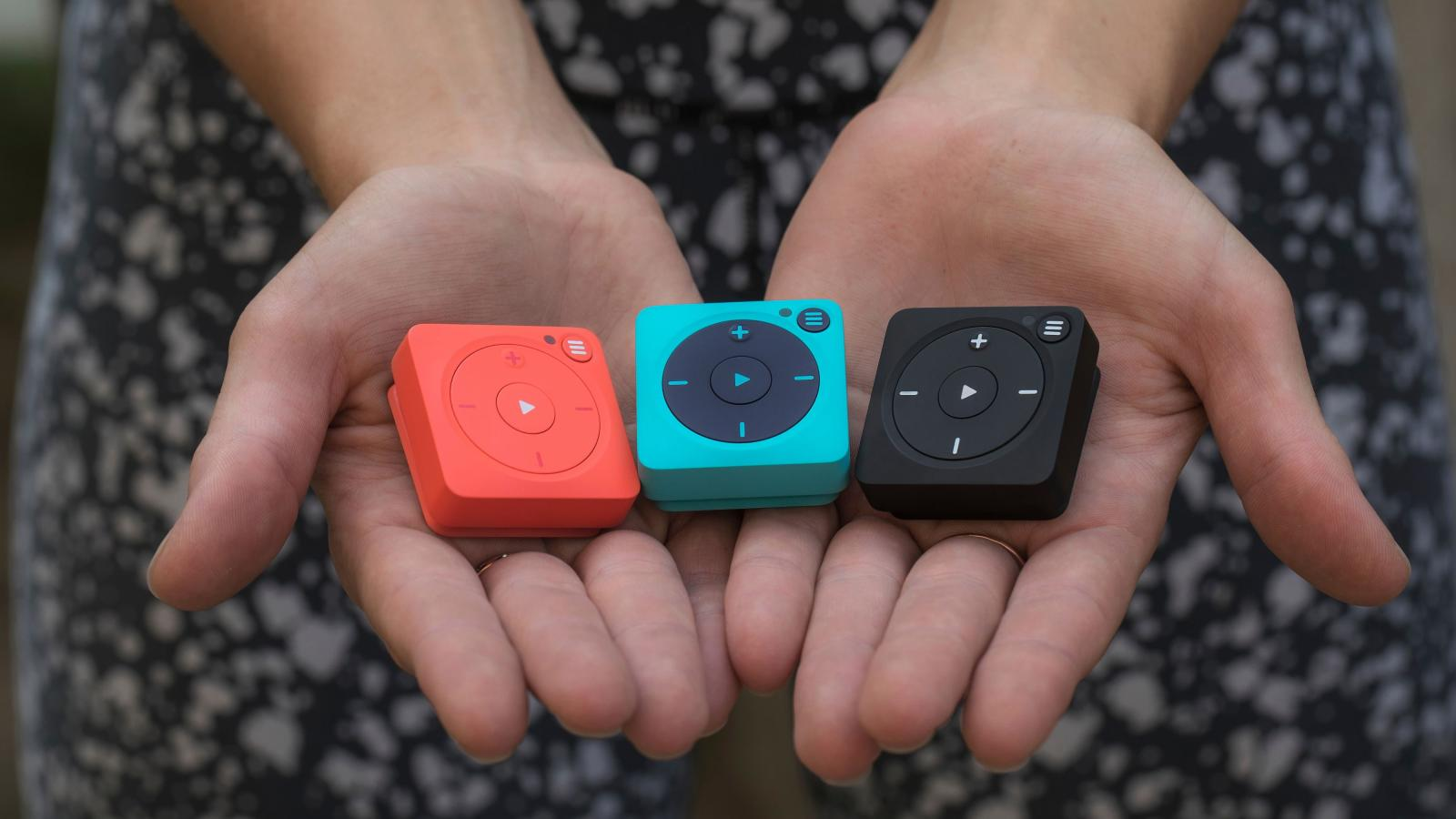 Mighty Vibe Spotify Player is the iPod Shuffle's spiritual