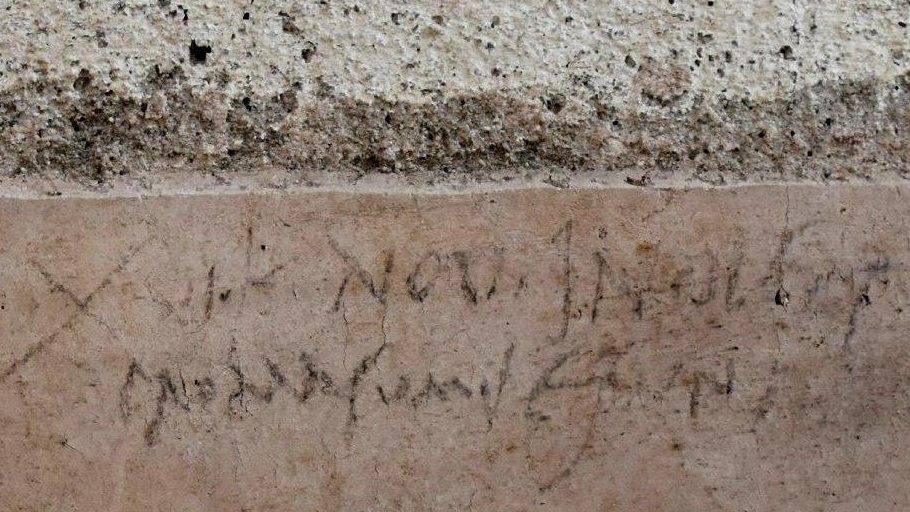 Pompeii Graffiti Changes The Historical Narrative Of The