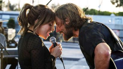 "Lady Gaga and Bradley Cooper as Ally and Jackson in ""A Star is Born"" (2018)"