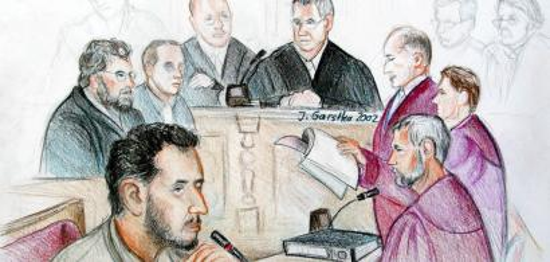 El-Motassadeq on trial