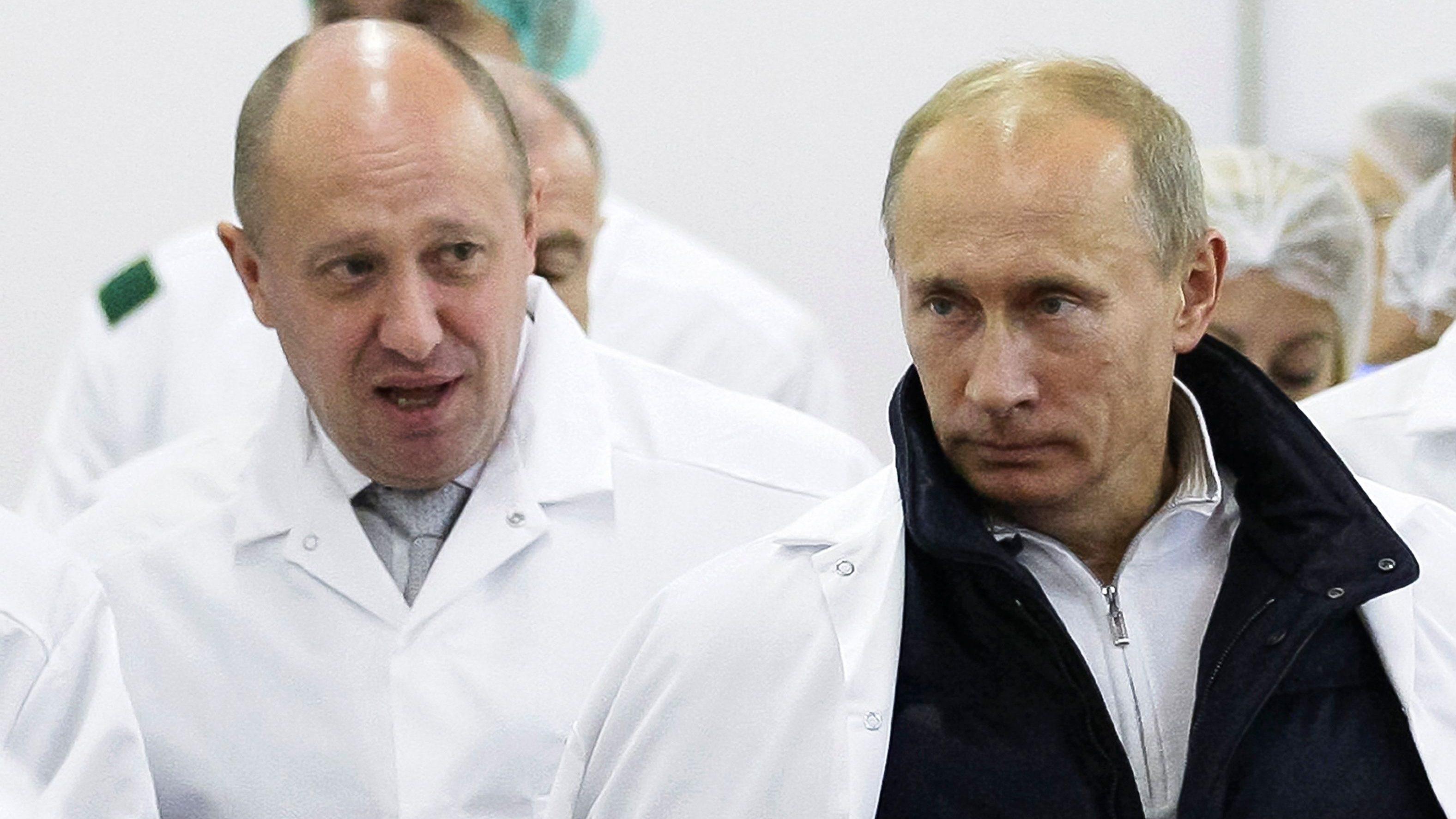 Troll farm oligarch Yevgeny Prigozhin acts on Putin's orders