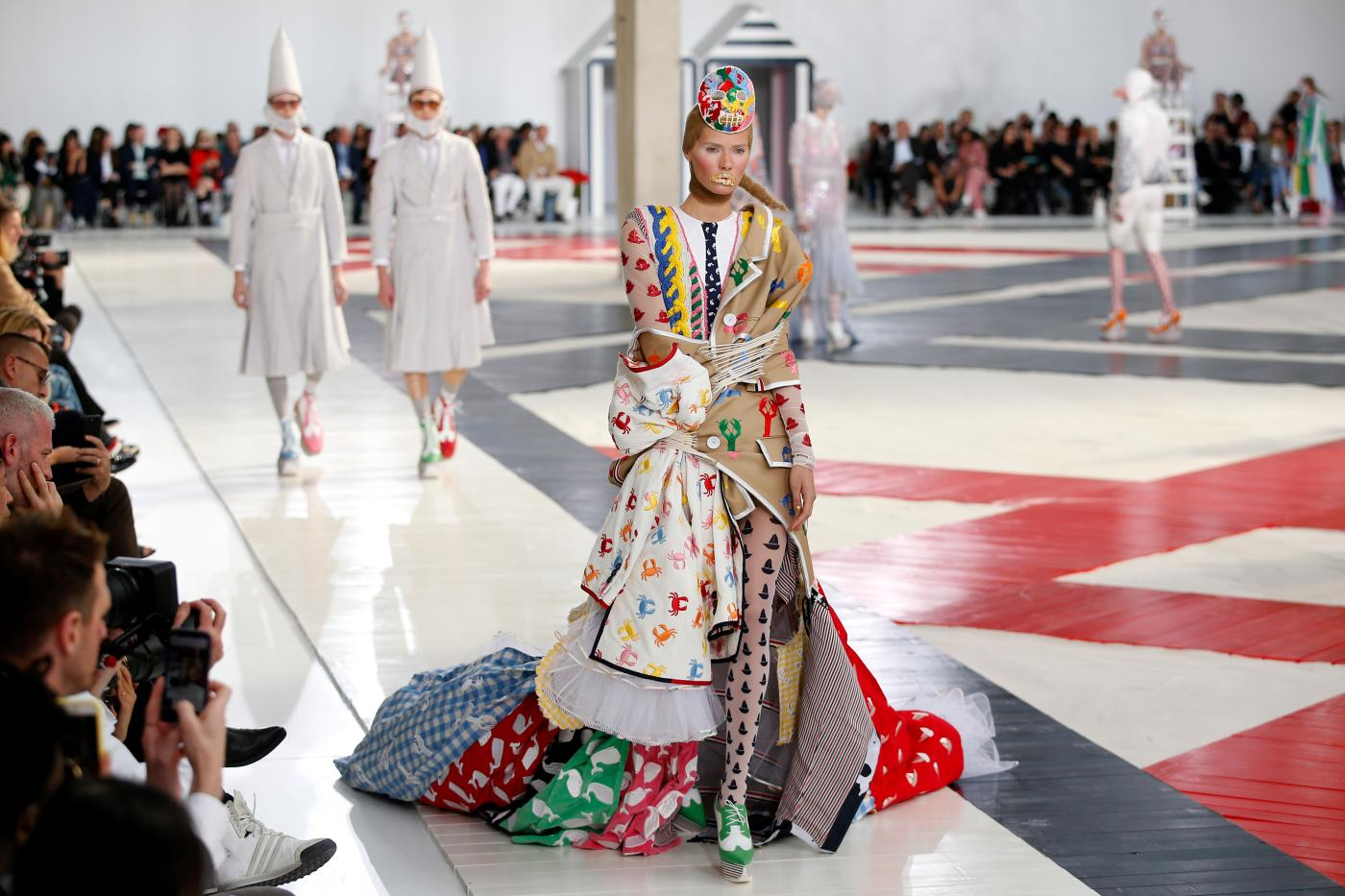 Saint Laurent, Celine, and Thom Browne's oppressive runway shows — Quartzy