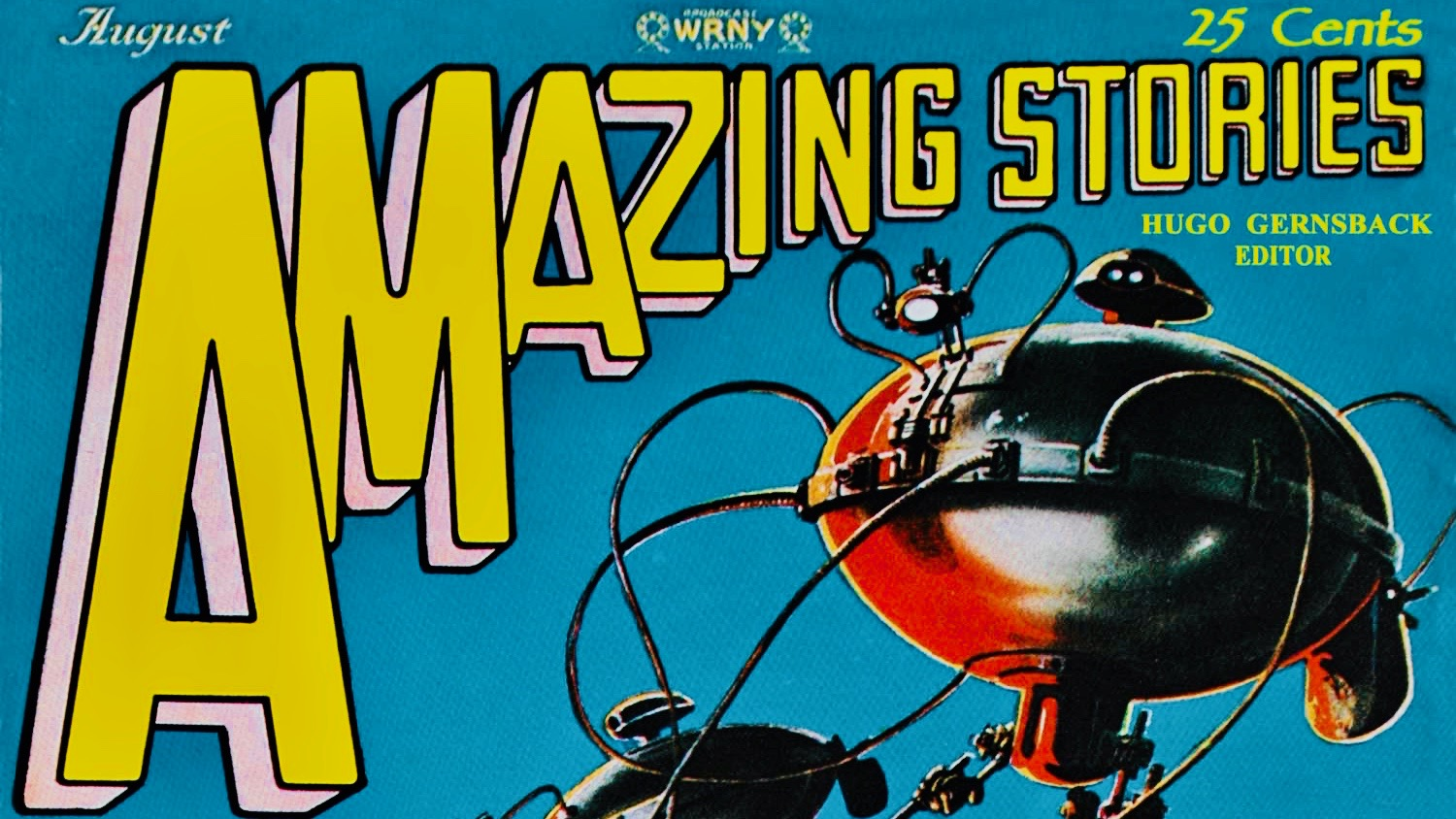 Amazing Stories: The War of the Worlds 1927