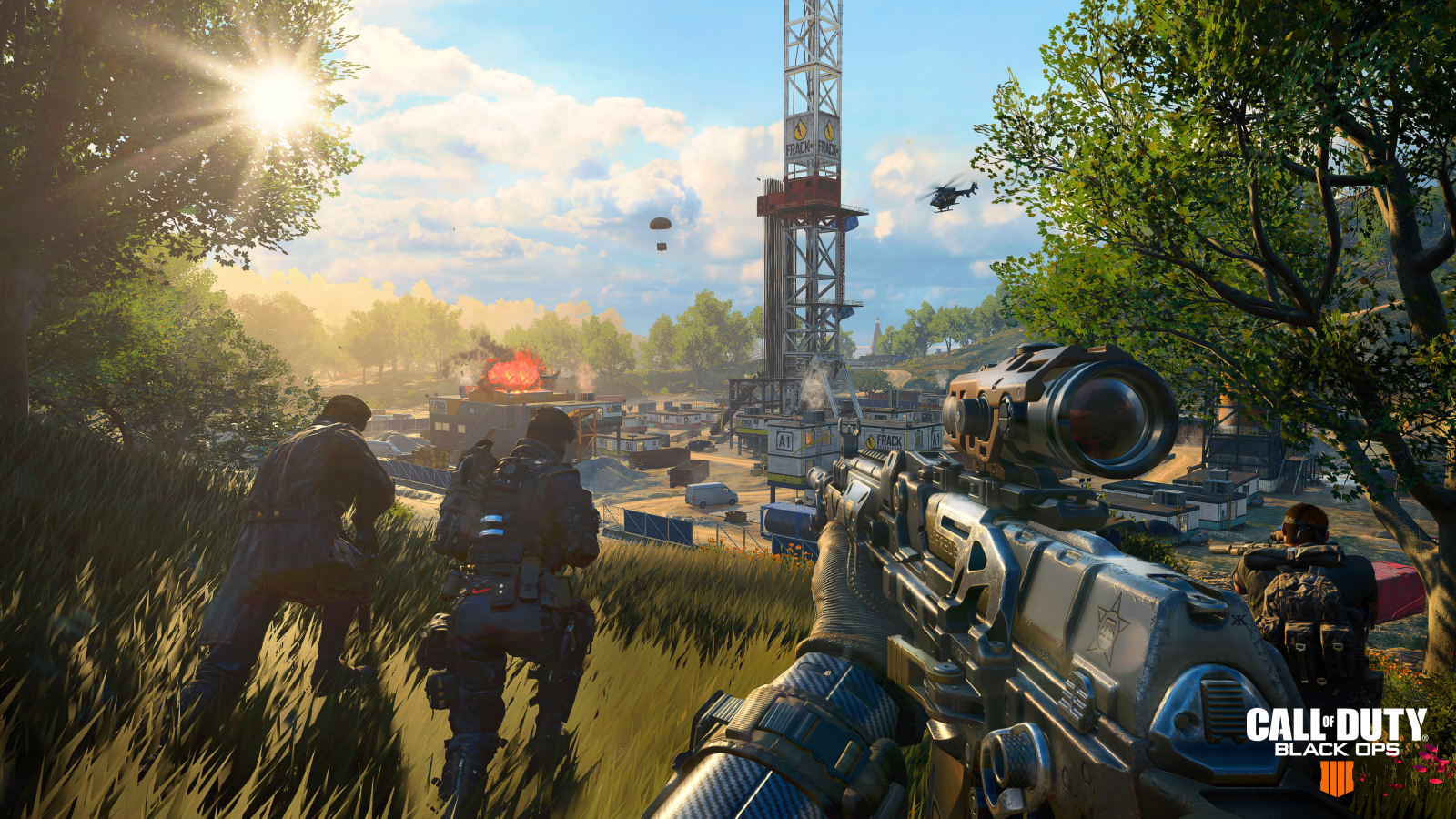 Call Of Duty Black Ops 4 Takes On Fortnite In The Battle Royale Game Genre Quartz