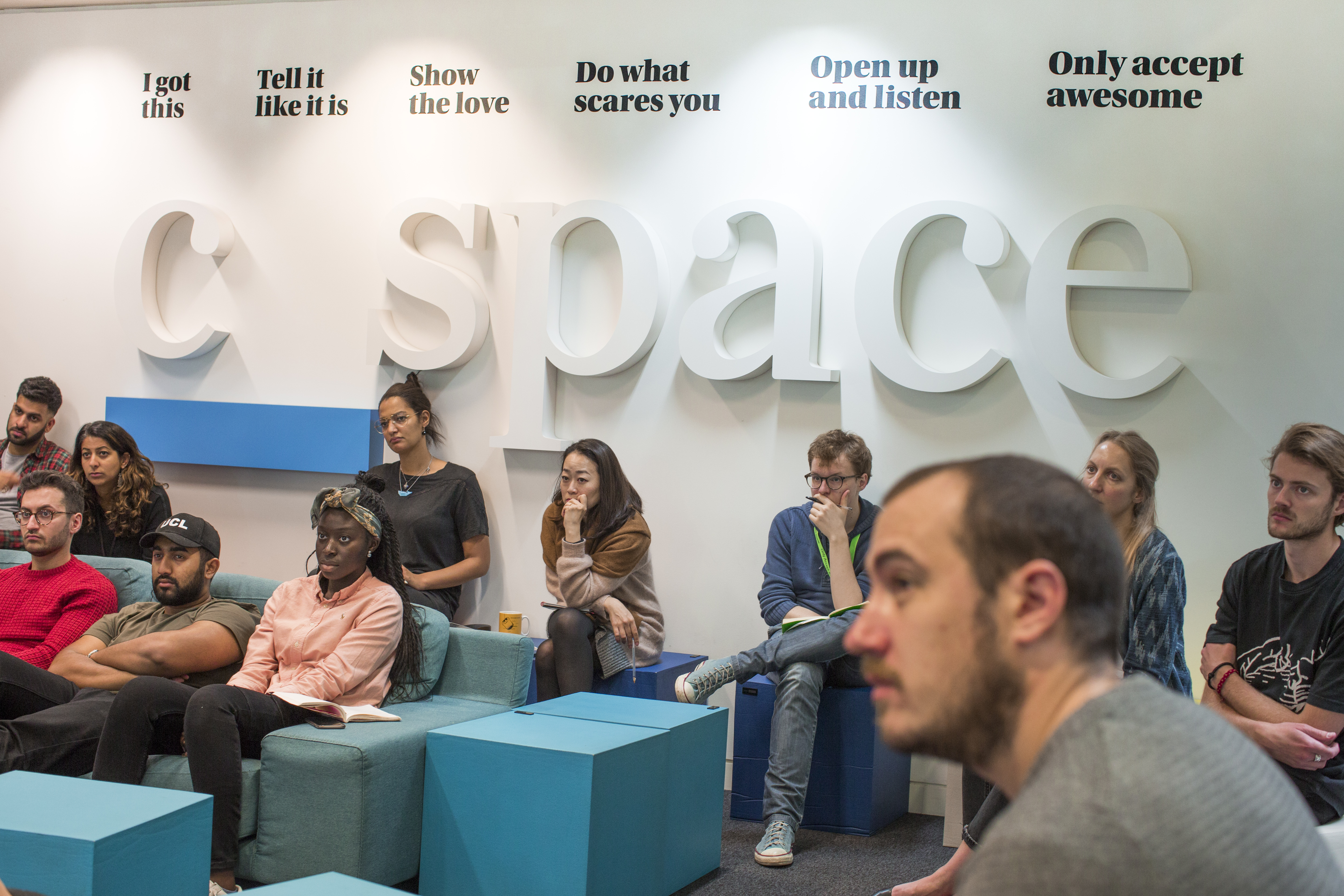 C Space London office