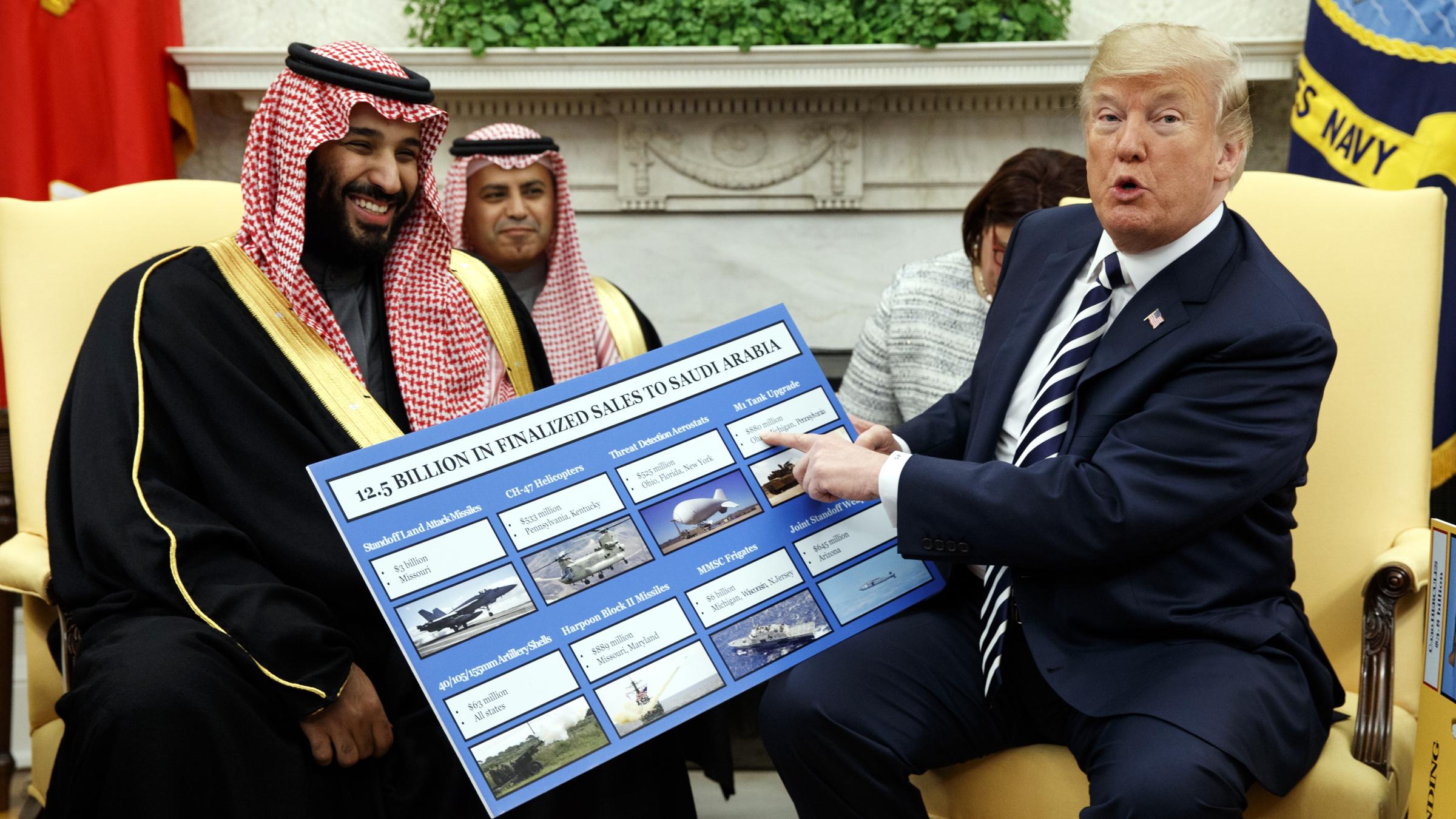 Saudi Arabia's money means more to Trump than Khashoggi's life — Quartz