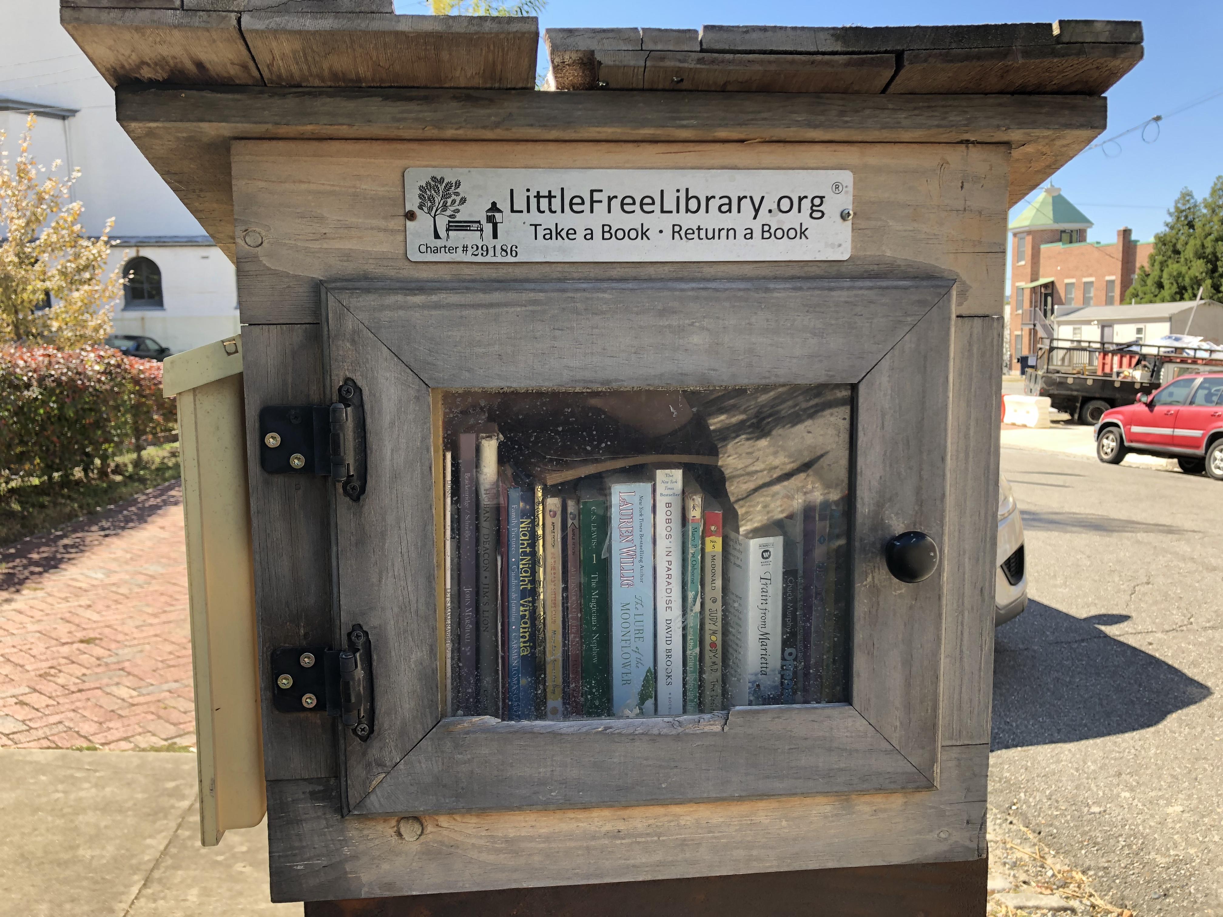 a library in Richmond, Virginia