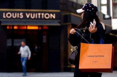Even a fake Louis Vuitton is a status symbol in India