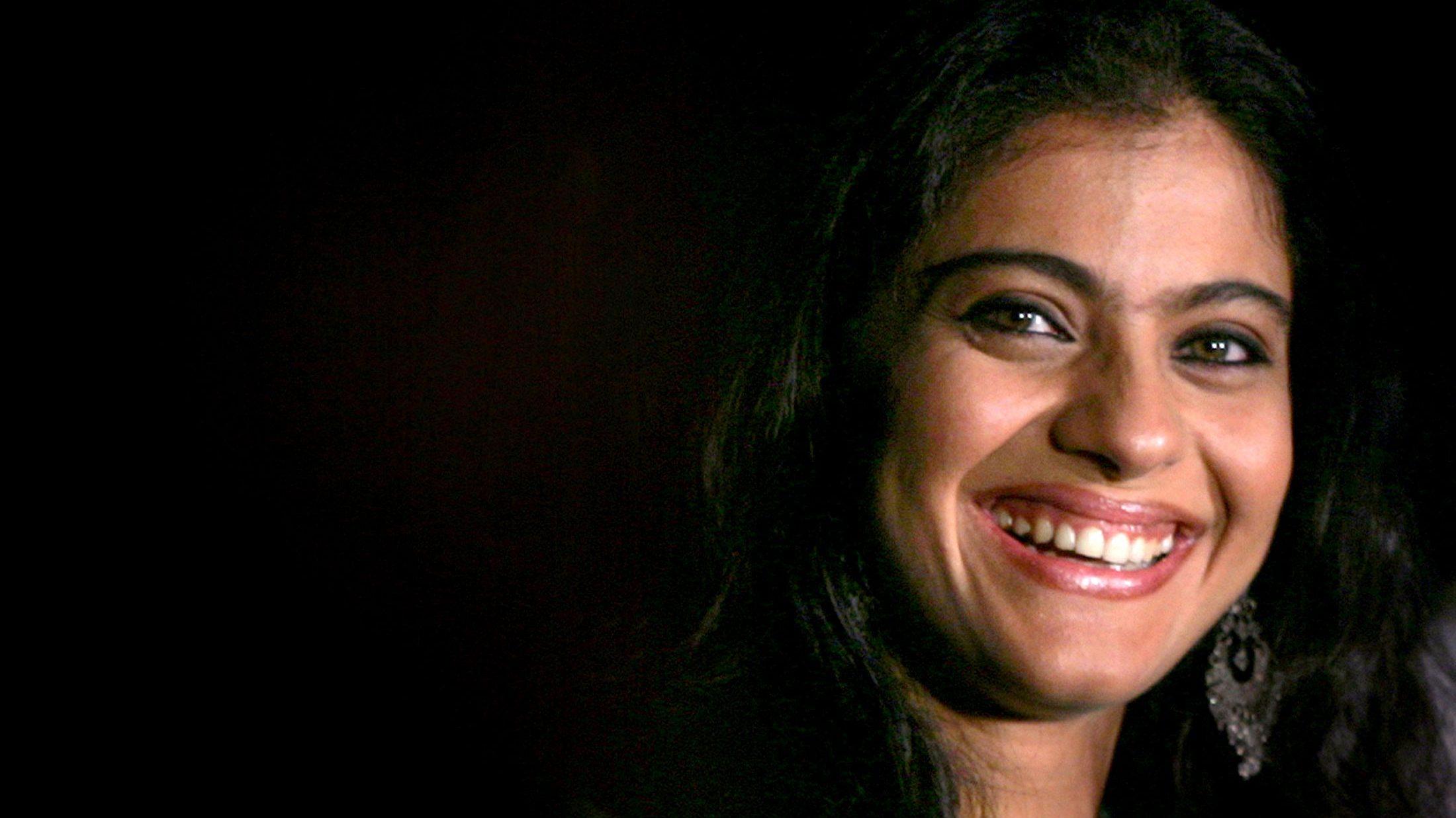 Bollywood actress Kajol refused the tyranny of eyebrow upkeep.