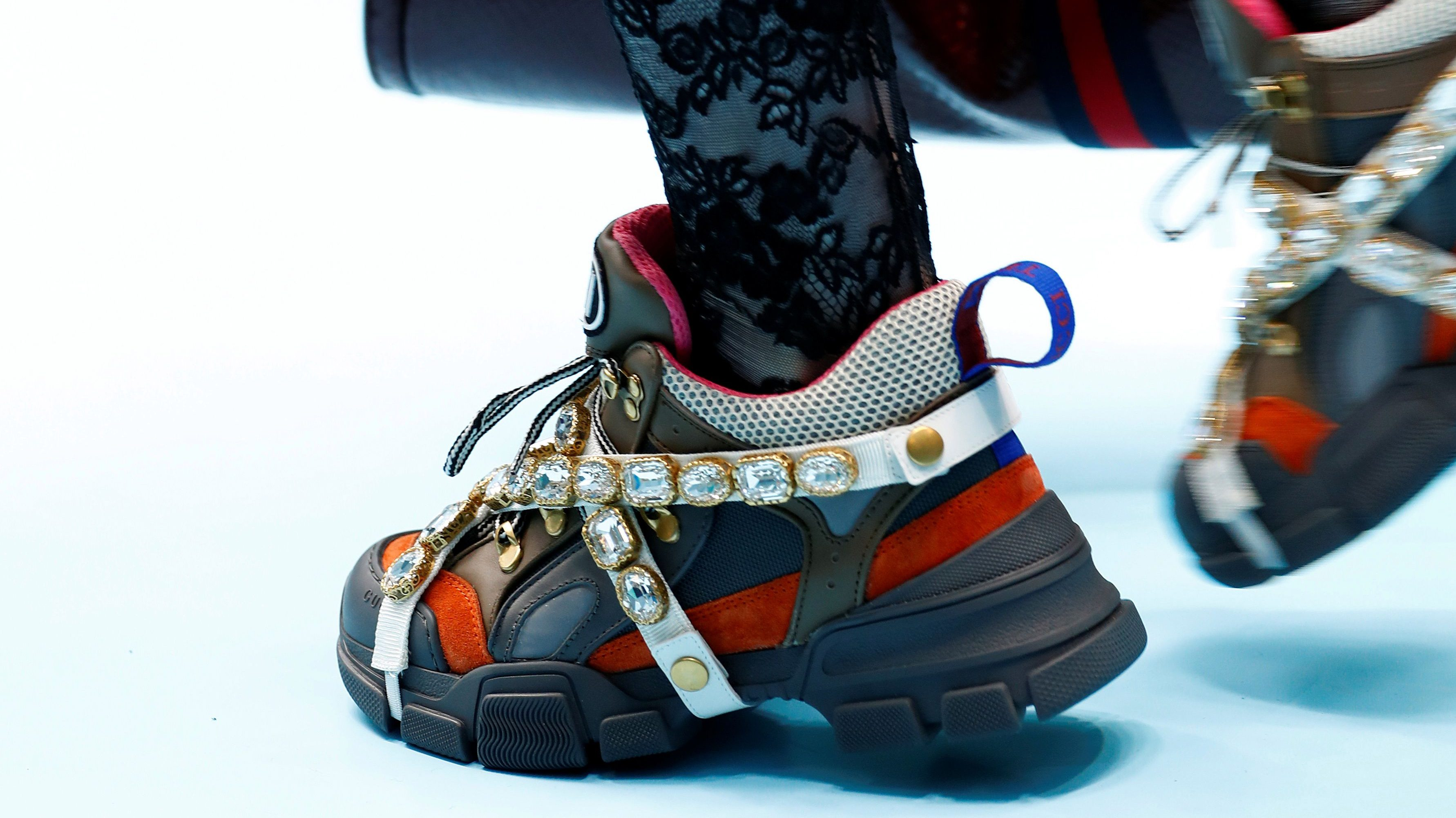 Adidas S Ceo Says Sneakers By Gucci And Versace Are