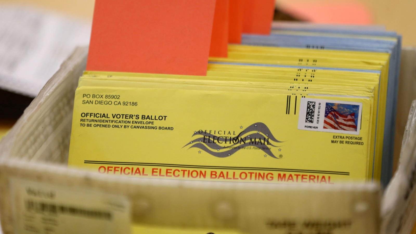 how many stamps should i put on an absentee ballot? — quartz