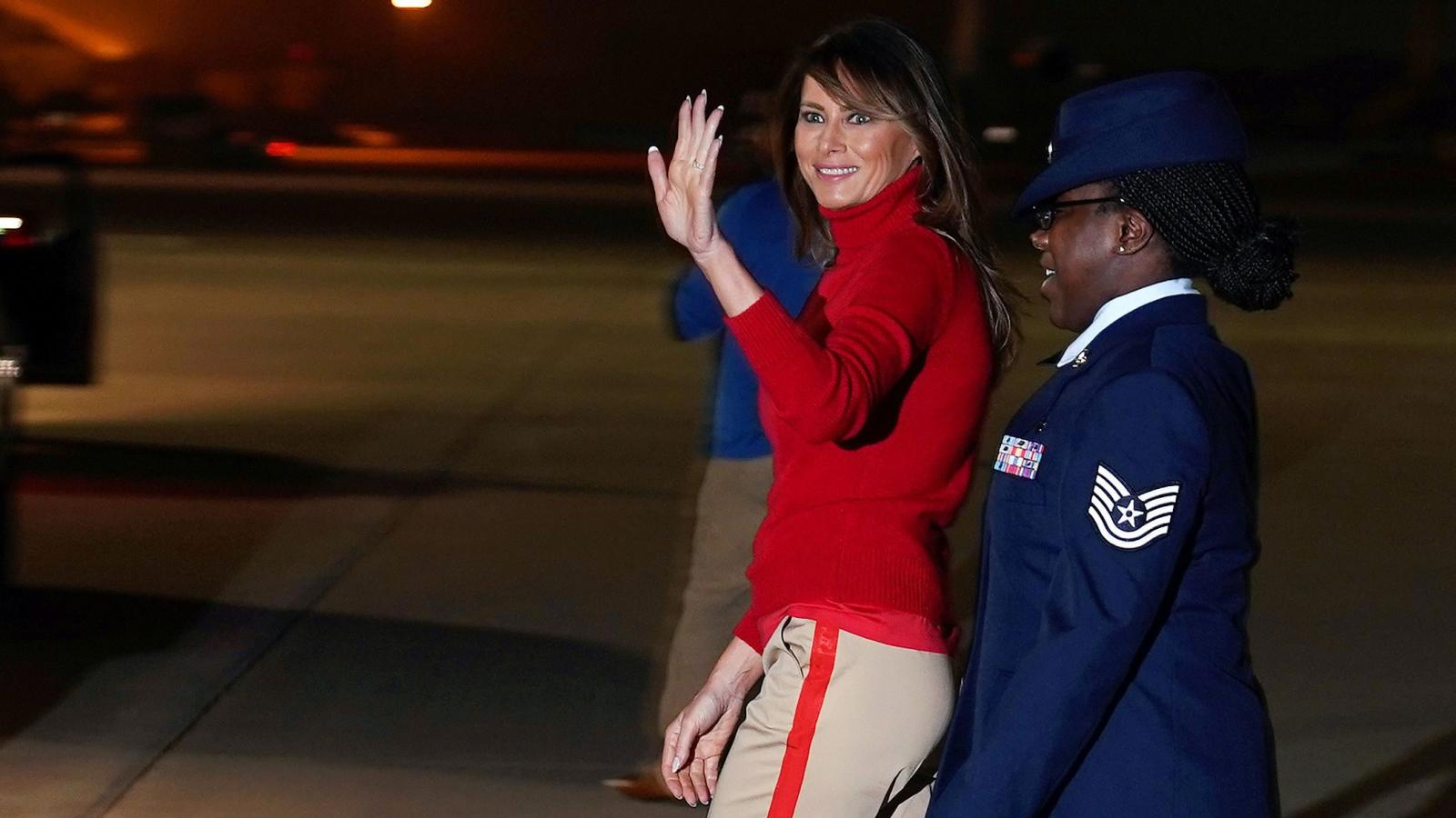 e0e098ed8 Melania Trump says she s the most bullied person in the world — Quartz