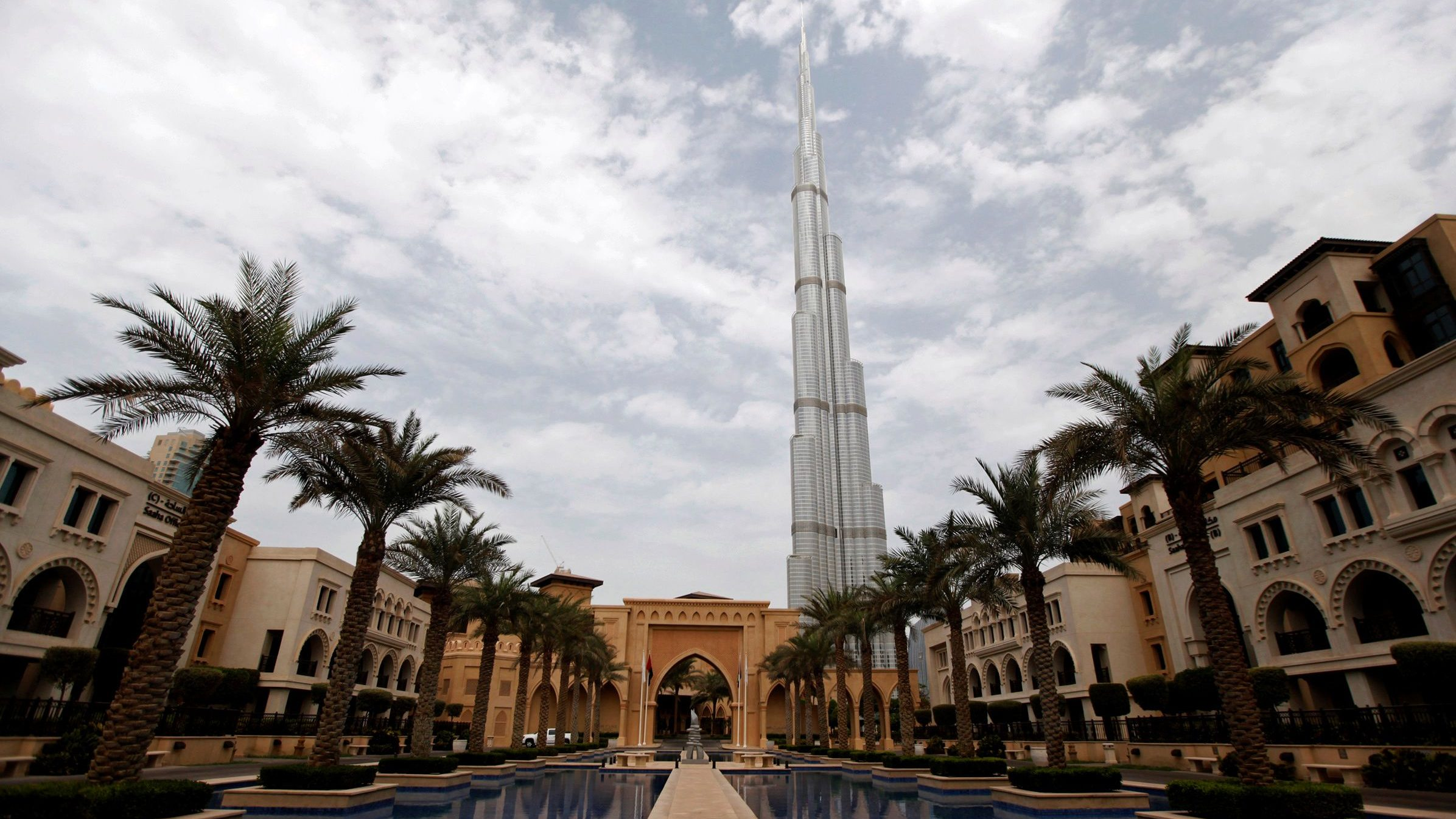 FILE PHOTO: The Burj Khalifa is seen from Al Qasr hotel in the Old Town in downtown Dubai