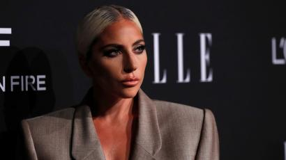 Honoree singer Lady Gaga poses at the 25th annual ELLE Women in Hollywood in Los Angeles, California, U.S., October 15, 2018. REUTERS/Mario Anzuoni - RC1B582383A0