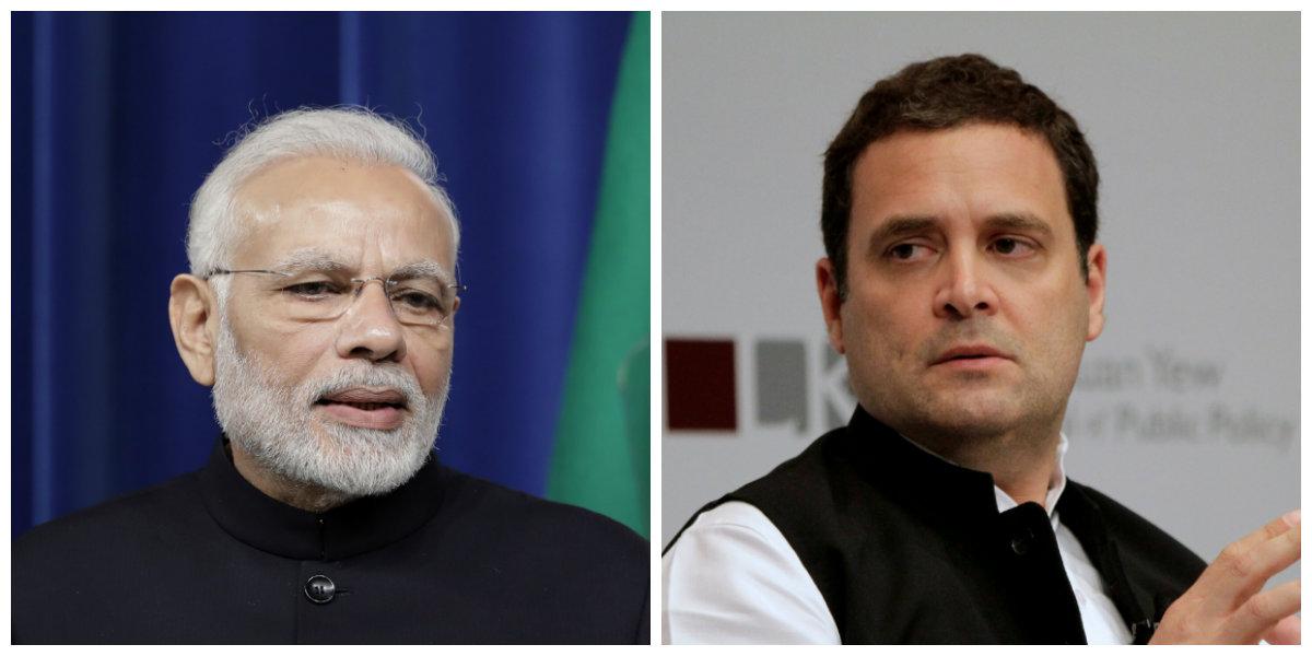 India-Politics-Rahul-Modi